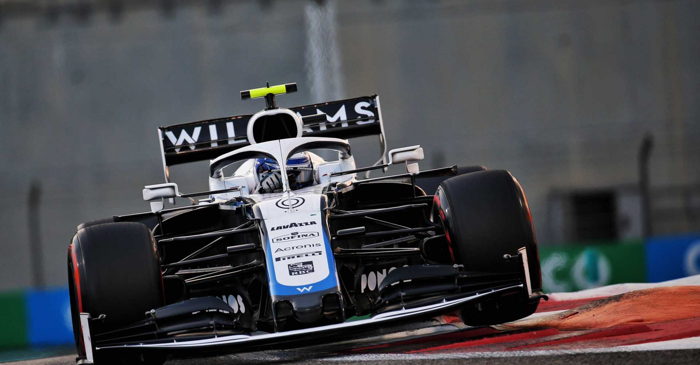 Nicholas Latifi (CDN) Williams Racing FW43. Abu Dhabi Grand Prix, Saturday 12th December 2020. Yas Marina Circuit, Abu Dhabi, UAE.