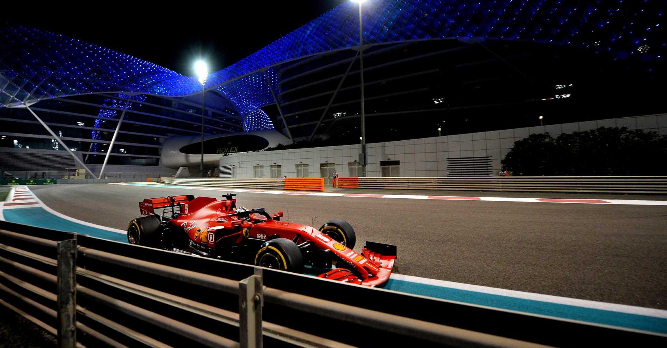 GP ABU DHABI  F1/2020 - DOMENICA  13/12/2020    credit: @Scuderia Ferrari Press Office Sebastian Vettel