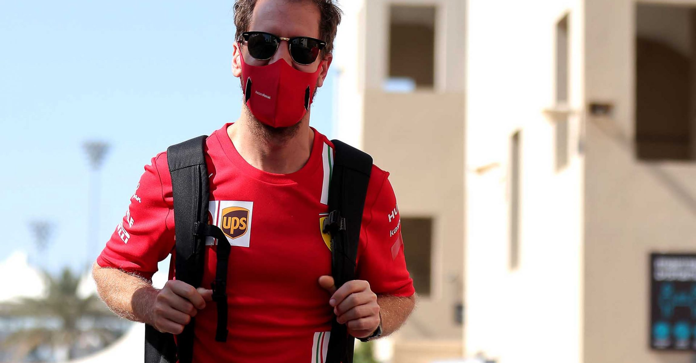 GP ABU DHABI  F1/2020 - GIOVEDÌ  10/12/2020   credit: @Scuderia Ferrari Press Office Sebastian Vettel Ferrari