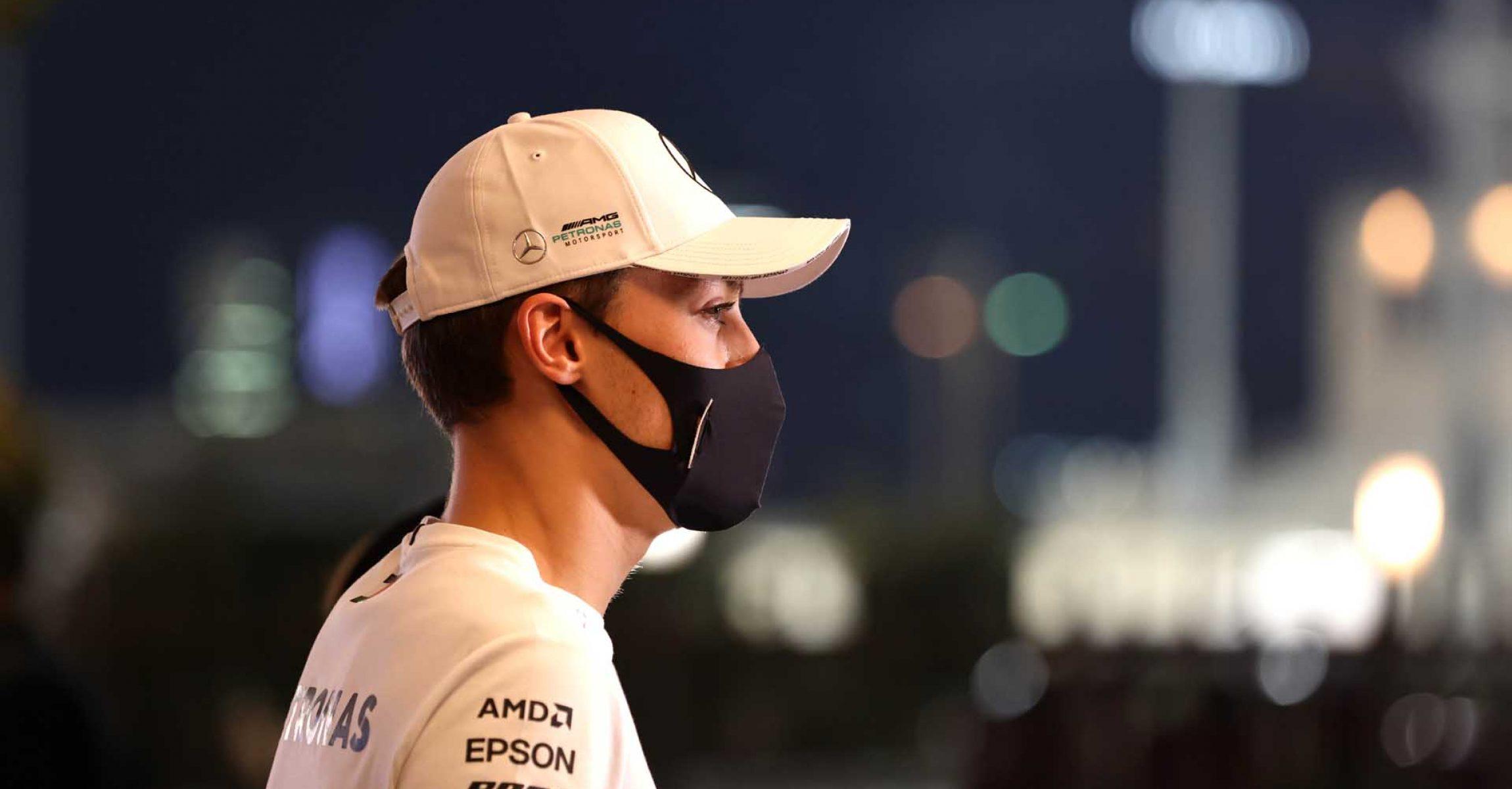 2020 Abu Dhabi Grand Prix, Thursday - Steve Etherington George Russell Mercedes