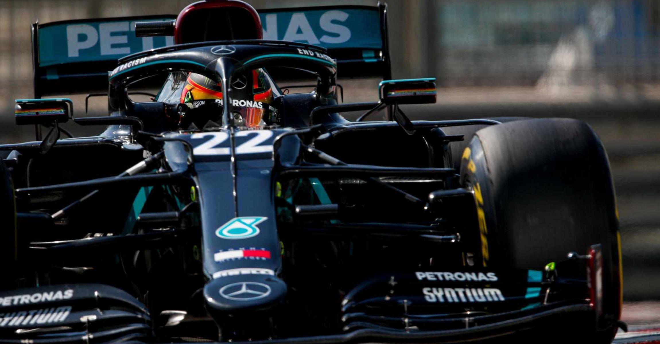 Stoffel Vandoorne, Mercedes, Abu Dhabi Young Driver Test,