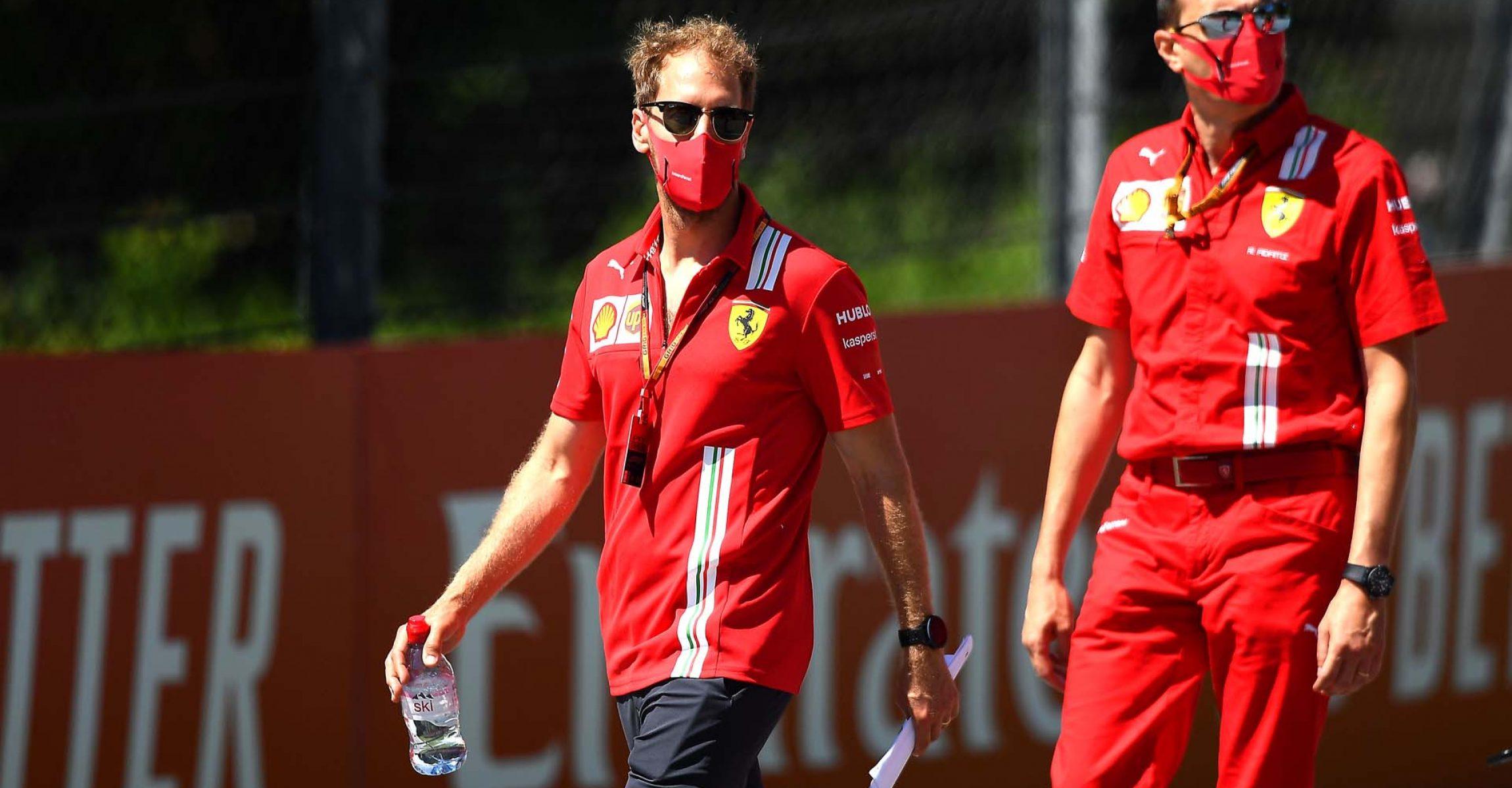 GP AUSTRIA F1/2020 - GIOVEDÌ 02/07/2020 credit: @Scuderia Ferrari Press Office Sebastian Vettel