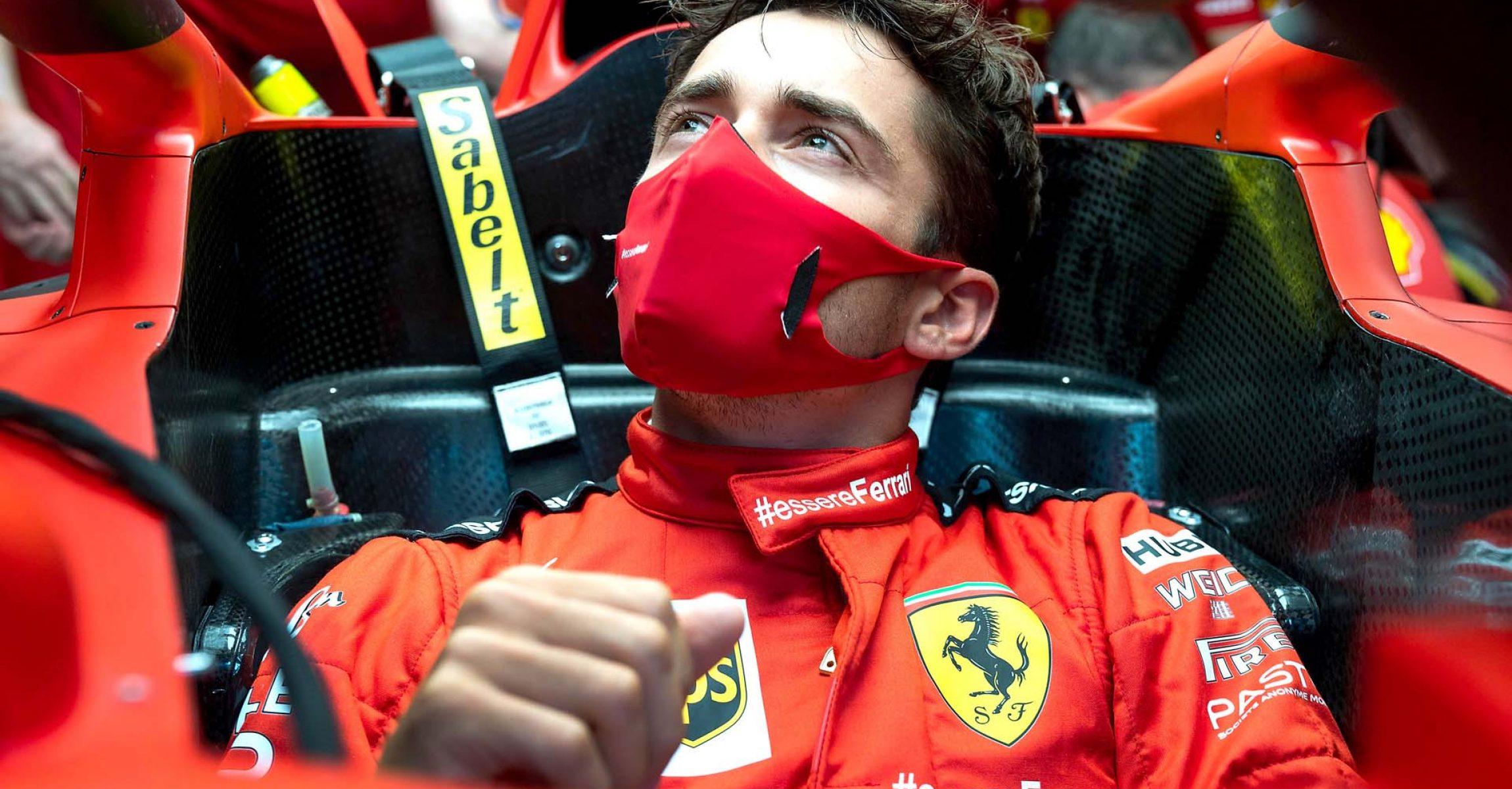 GP AUSTRIA F1/2020 - GIOVEDÌ 02/07/2020 credit: @Scuderia Ferrari Press Office Charles Leclerc