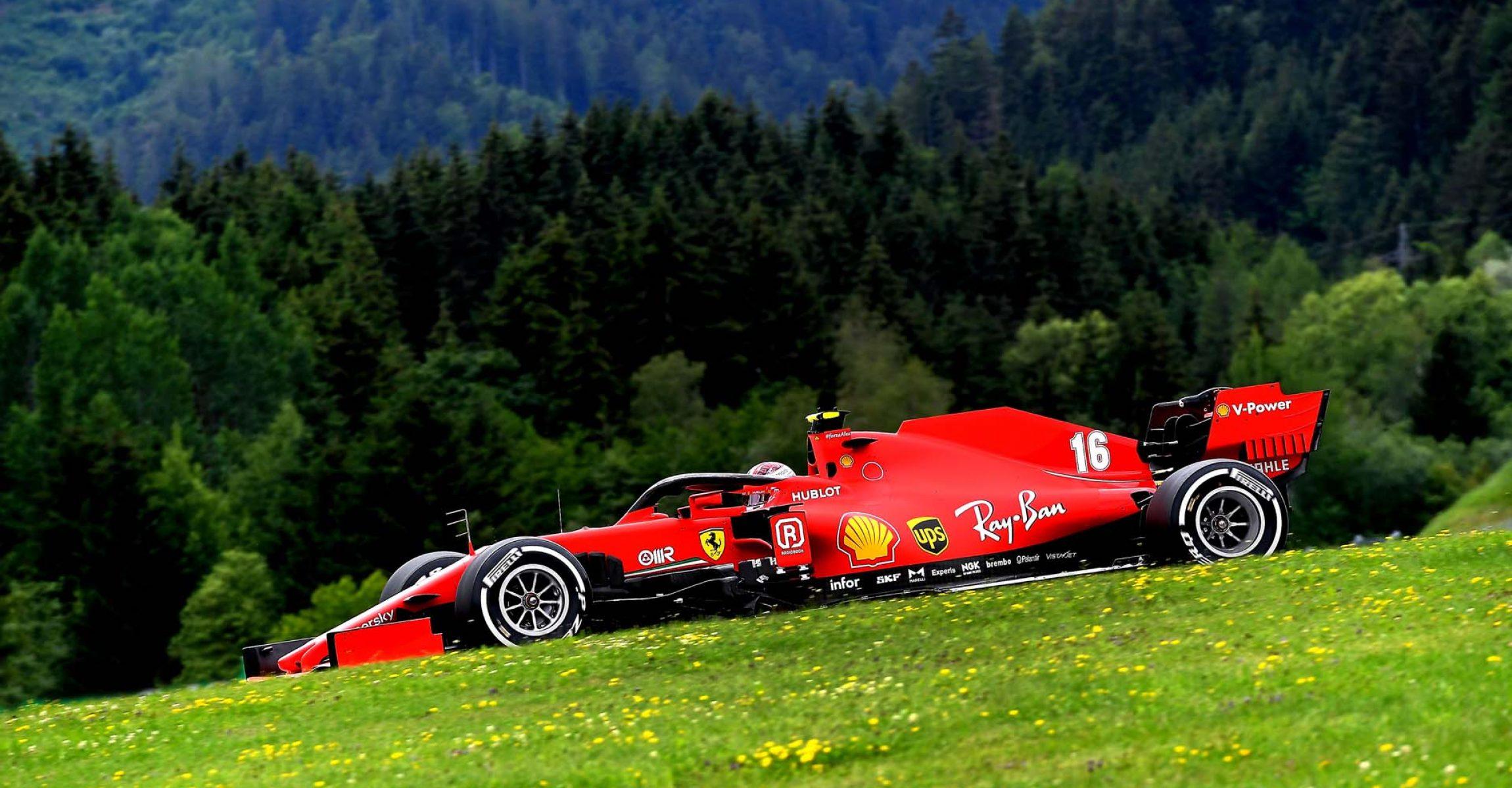 GP AUSTRIA F1/2020 - VENERDÌ 03/07/2020 credit: @Scuderia Ferrari Press Office Charles Leclerc