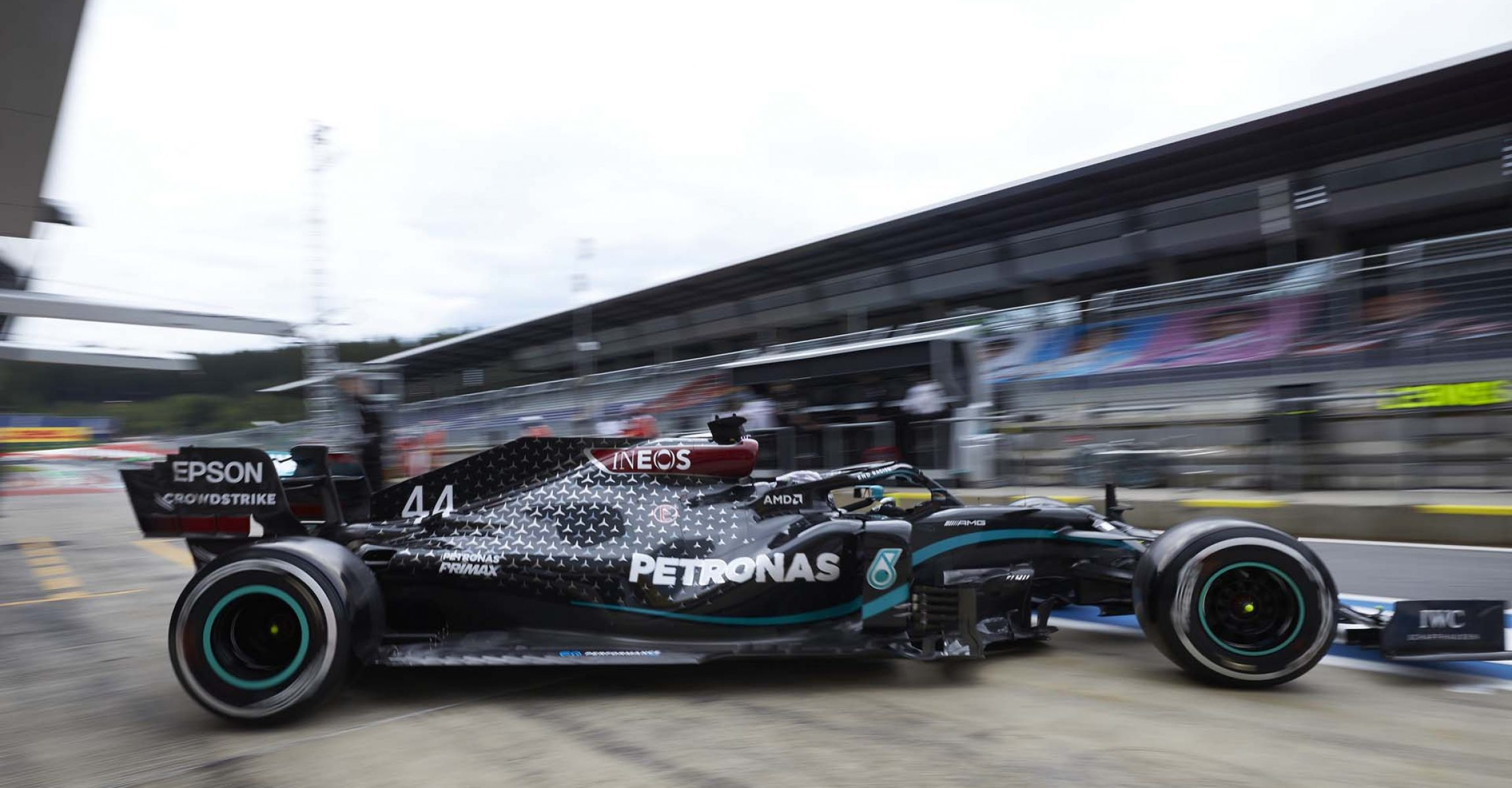2020 Austrian Grand Prix, Friday - Steve Etherington Lewis Hamilton Mercedes