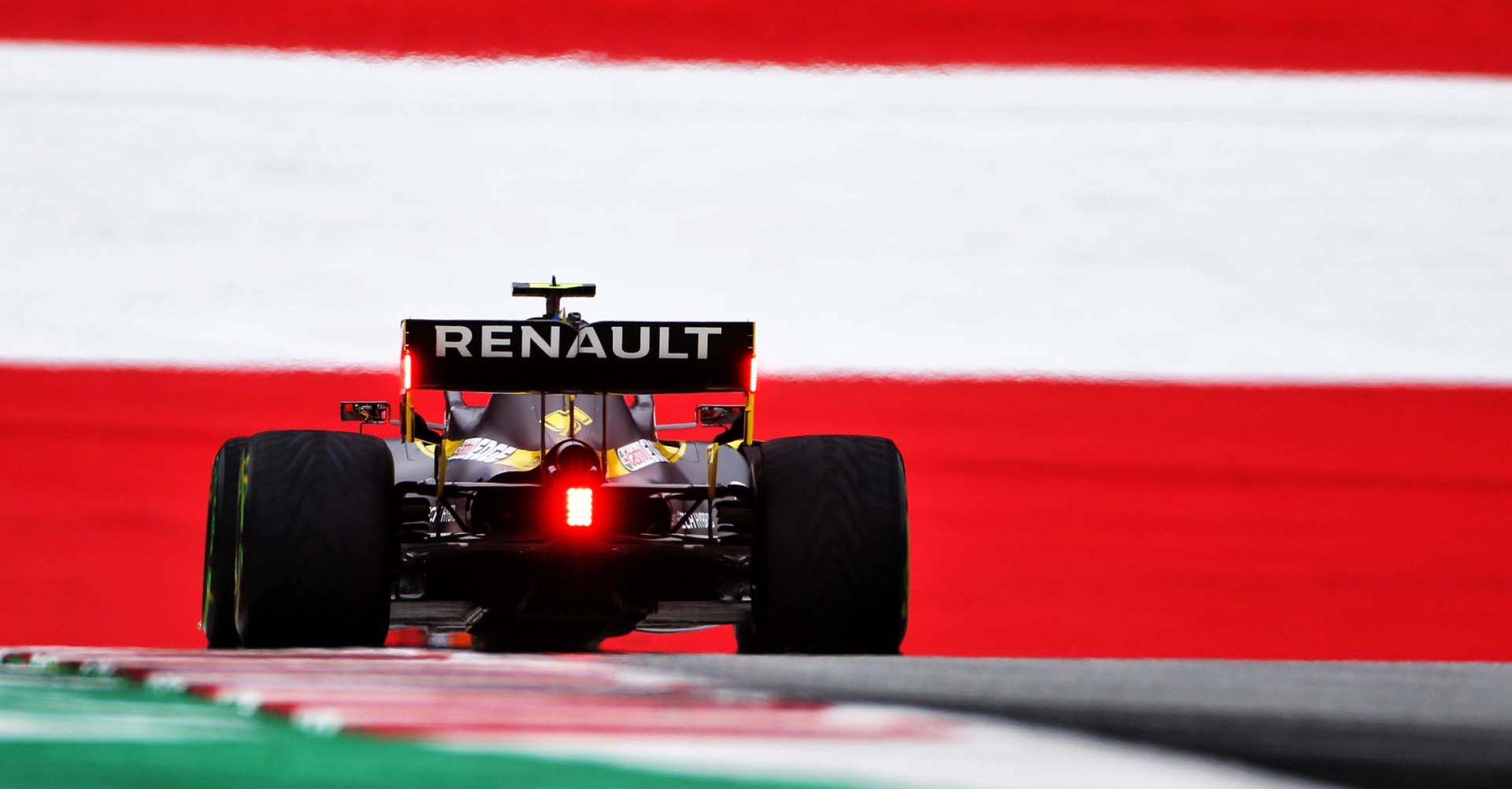 Esteban Ocon (FRA) Renault F1 Team RS20. Austrian Grand Prix, Friday 3rd July 2020. Spielberg, Austria.