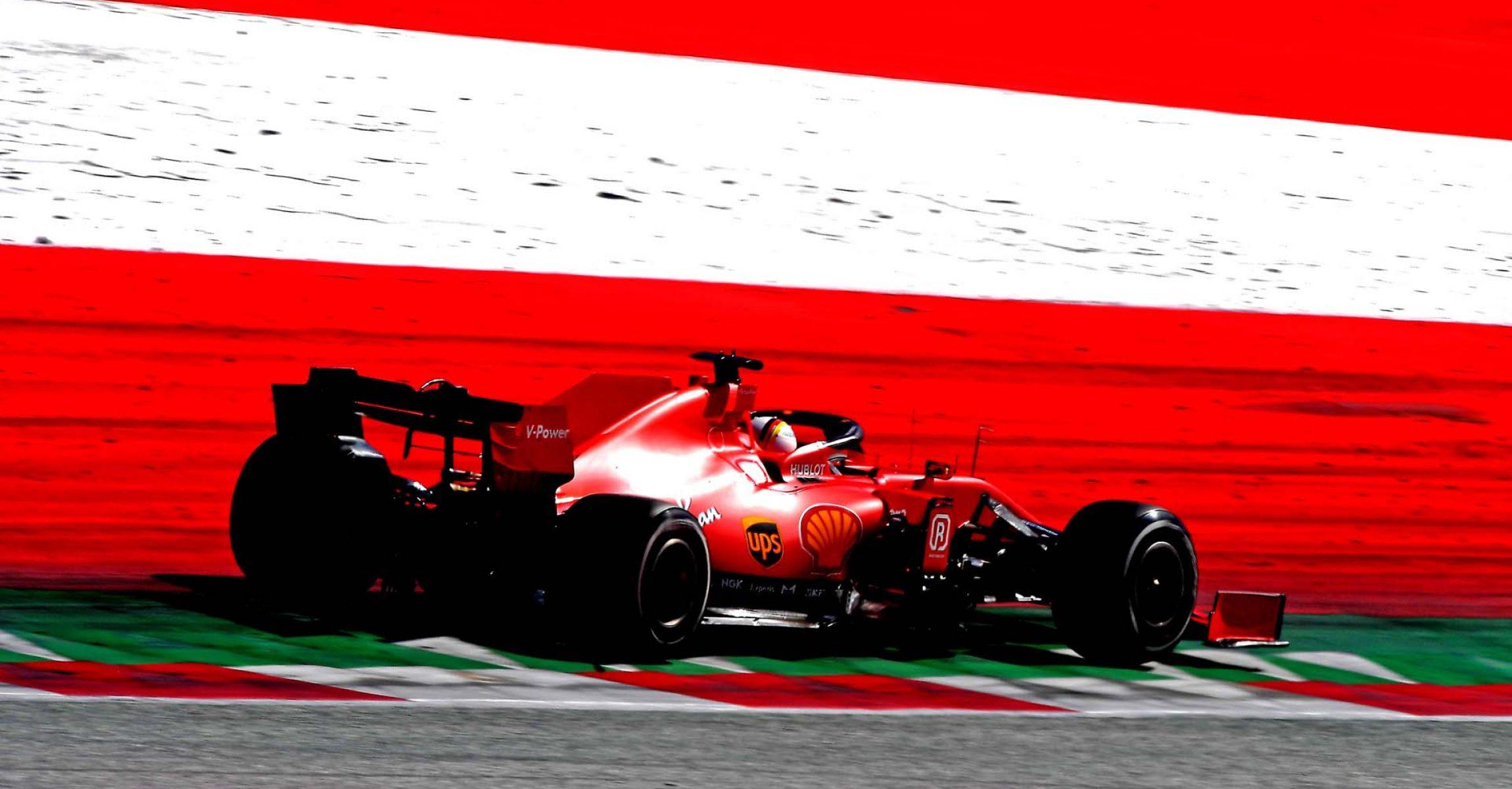 GP AUSTRIA F1/2020 - DOMENICA 05/07/2020 credit: @Scuderia Ferrari Press Office Sebastian Vettel
