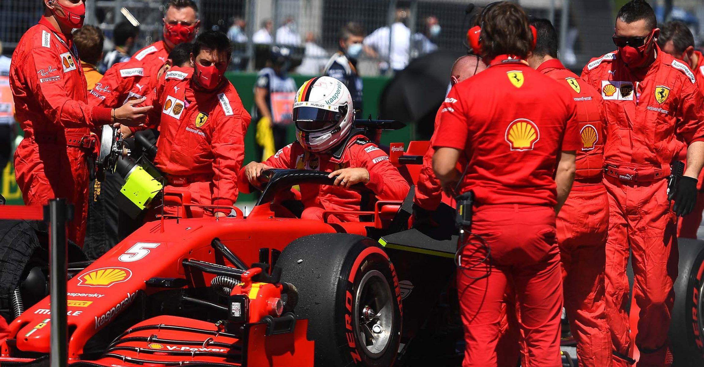 GP AUSTRIA F1/2020 - DOMENICA 05/07/2020 credit: @Scuderia Ferrari Press Office Sebastian Vettel grid