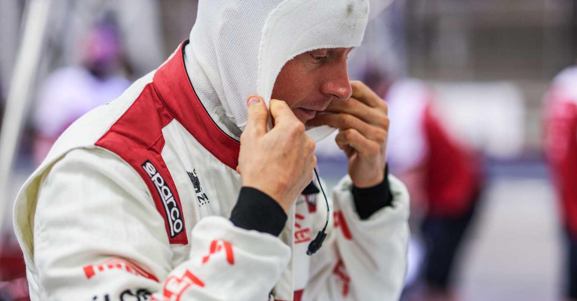 RAIKKONEN Kimi Räikkönen (fin), Alfa Romeo Racing ORLEN C39, portrait during the Formula 1 Gulf Air Bahrain Grand Prix 2020, from November 27 to 29, 2020 on the Bahrain International Circuit, in Sakhir, Bahrain - Photo Antonin Vincent / DPPI