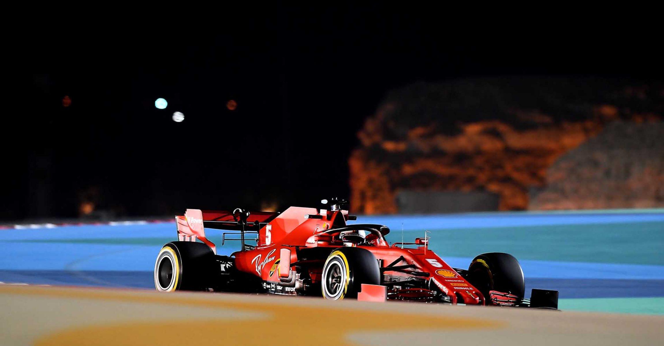 GP BAHRAIN  F1/2020 -  VENERDÌ 27/11/2020   credit: @Scuderia Ferrari Press Office Sebastian Vettel