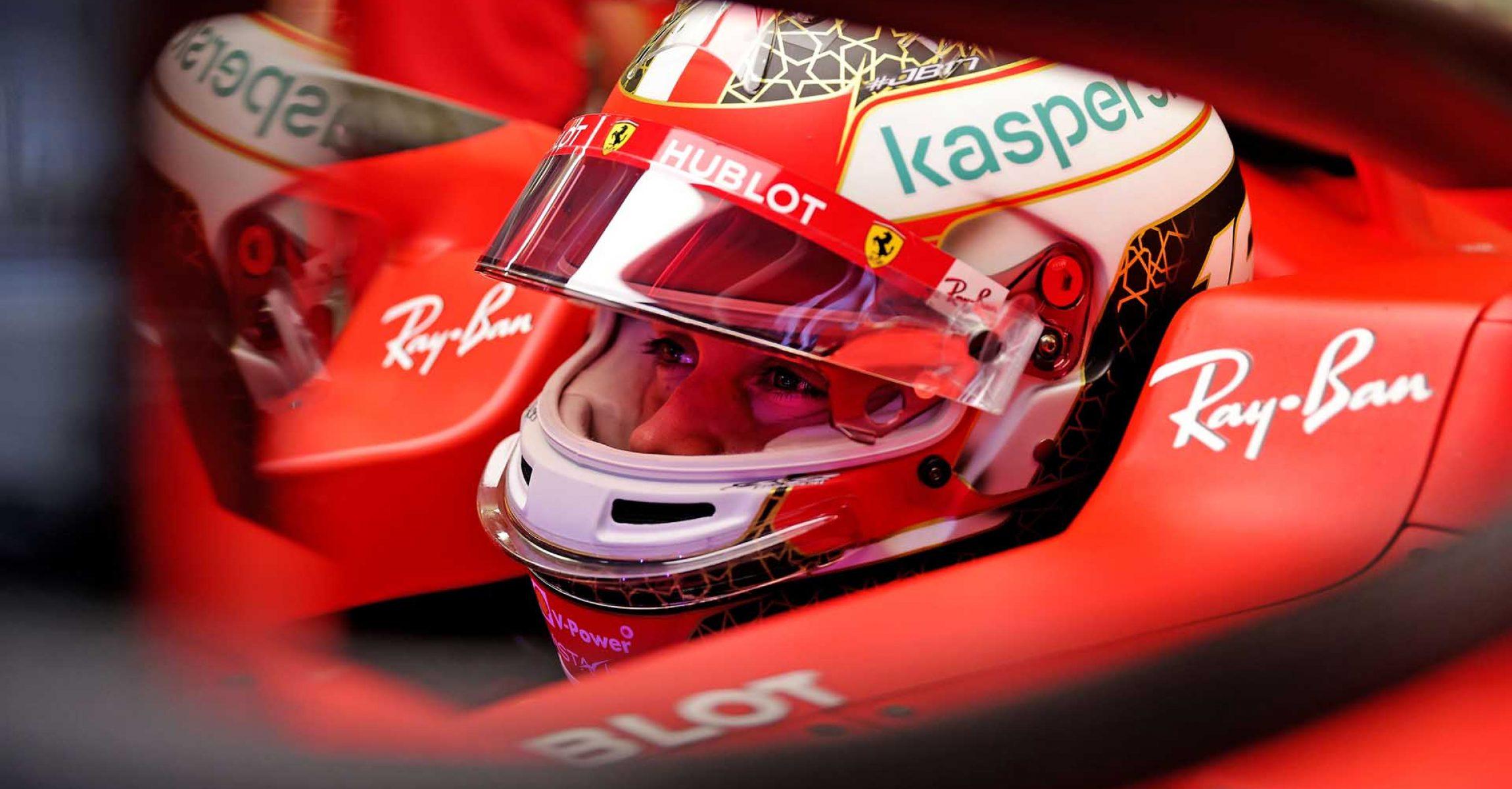 GP BAHRAIN  F1/2020 -  VENERDÌ 27/11/2020   credit: @Scuderia Ferrari Press Office Charles Leclerc