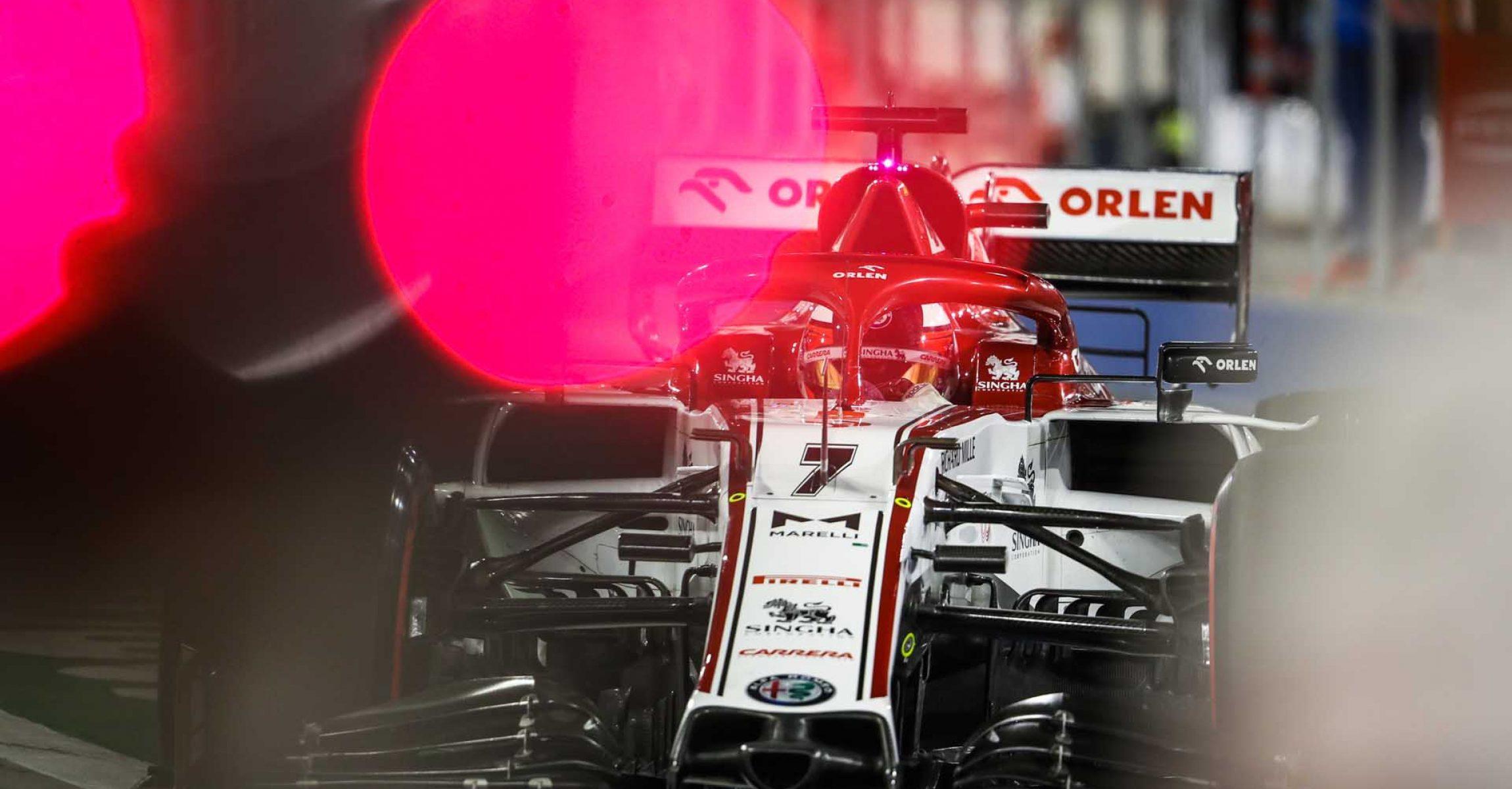07 RAIKKONEN Kimi Räikkönen (fin), Alfa Romeo Racing ORLEN C39, action during the Formula 1 Gulf Air Bahrain Grand Prix 2020, from November 27 to 29, 2020 on the Bahrain International Circuit, in Sakhir, Bahrain - Photo Antonin Vincent / DPPI