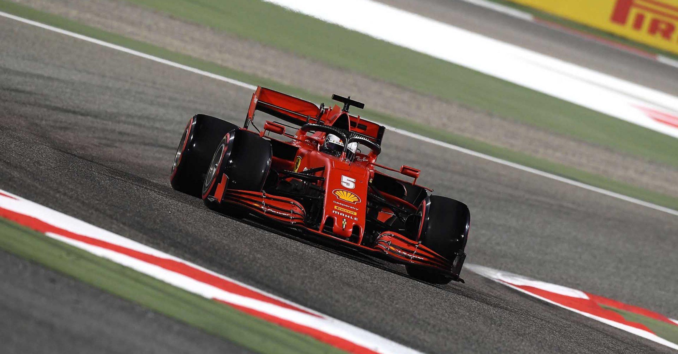 GP BAHRAIN  F1/2020 - SABATO 28/11/2020   credit: @Scuderia Ferrari Press Office Sebastian Vettel