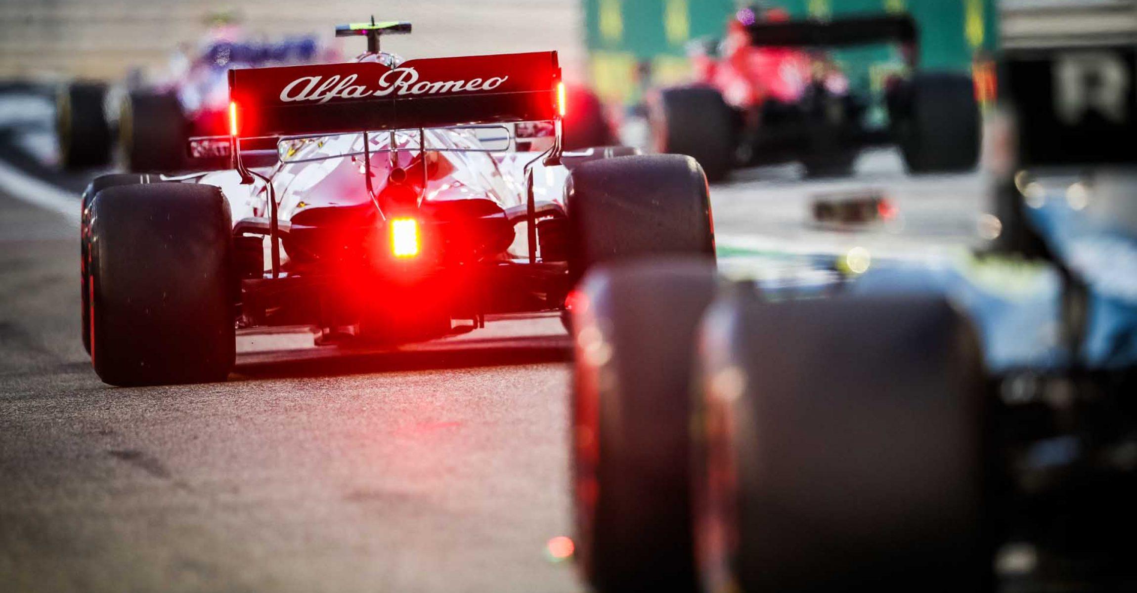 99 GIOVINAZZI Antonio (ita), Alfa Romeo Racing ORLEN C39, action during the Formula 1 Gulf Air Bahrain Grand Prix 2020, from November 27 to 29, 2020 on the Bahrain International Circuit, in Sakhir, Bahrain - Photo Antonin Vincent / DPPI