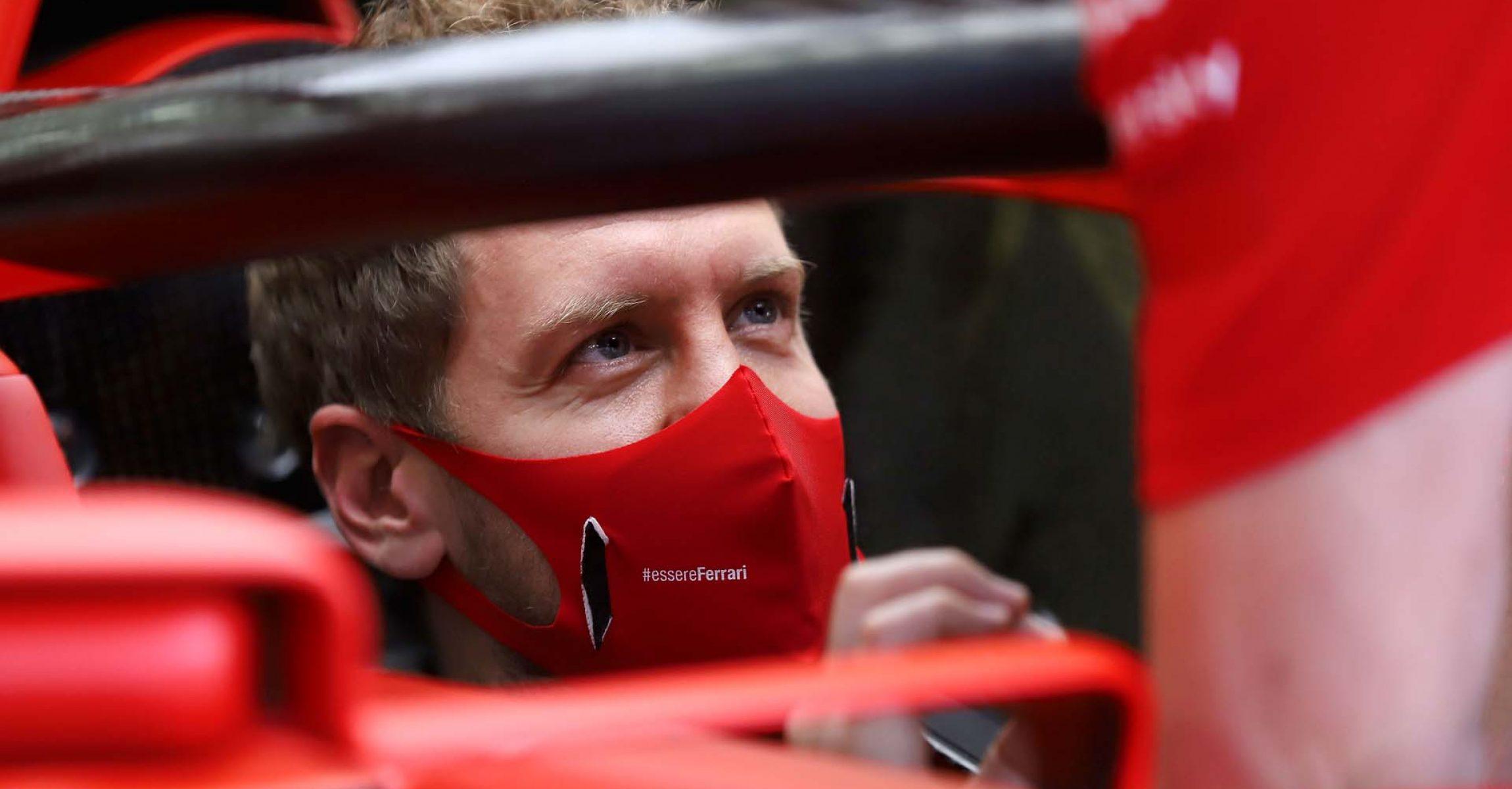 GP BAHRAIN  F1/2020 -  GIOVEDÌ 26/11/2020    credit: @Scuderia Ferrari Press Office Sebastian Vettel