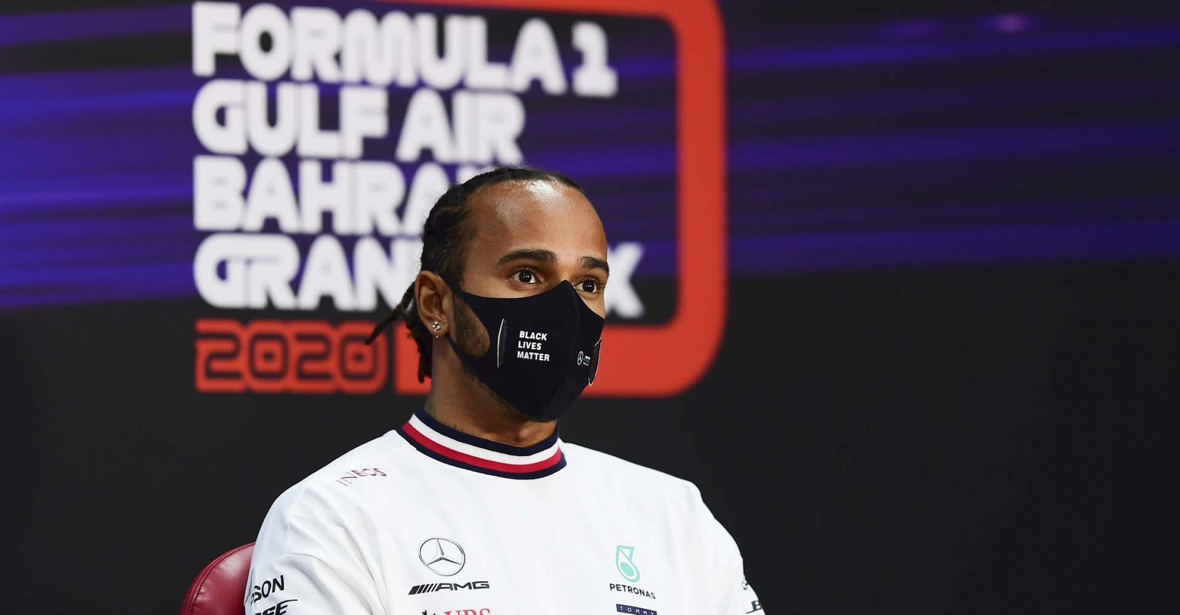 2020 Bahrain Grand Prix, Thursday - LAT Images Lewis Hamilton Mercedes