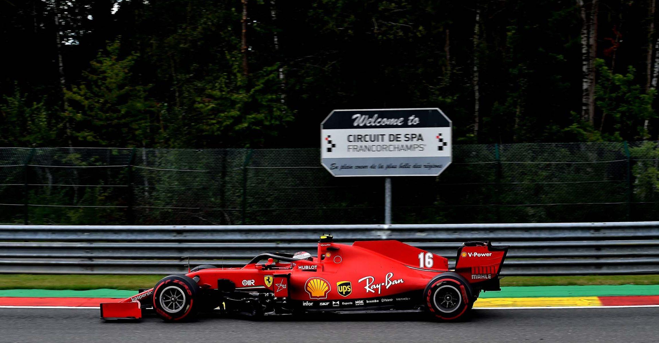 GP BELGIO F1/2020 -  VENERDÌ 28/08/2020   credit: @Scuderia Ferrari Press Office Charles Leclerc