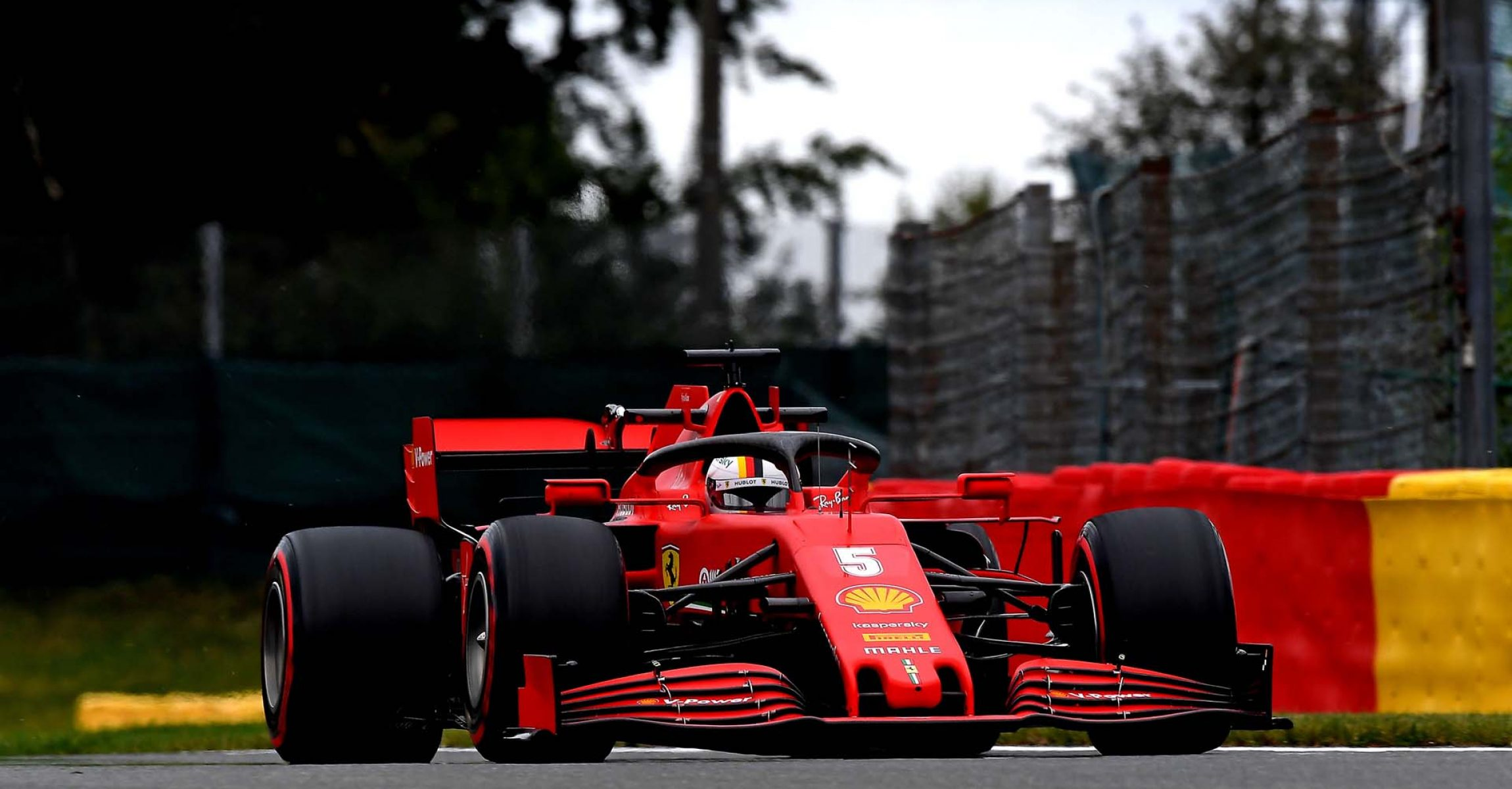 GP BELGIO F1/2020 -  VENERDÌ 28/08/2020   credit: @Scuderia Ferrari Press Office Sebastian Vettel
