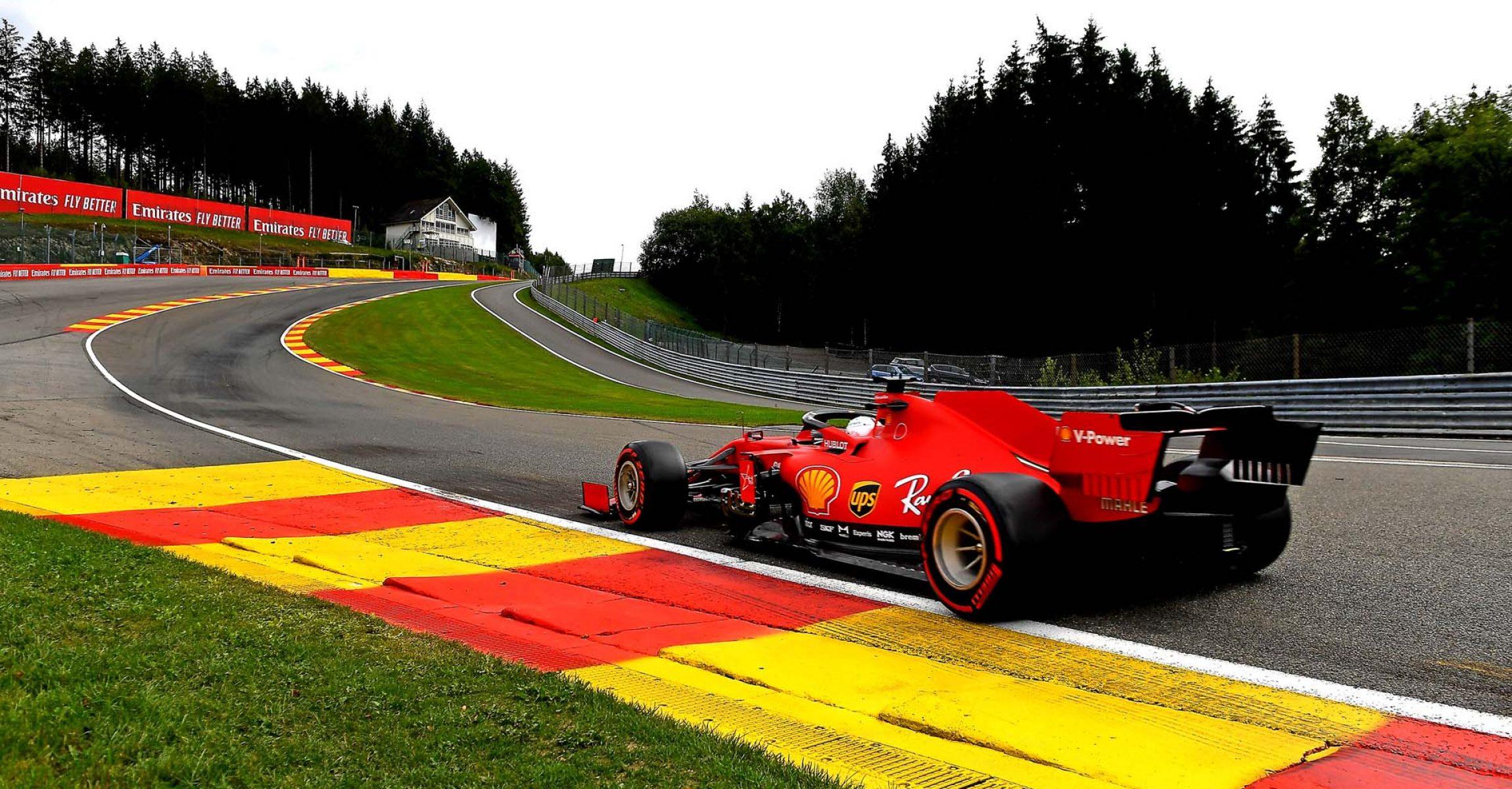GP BELGIO F1/2020 -  VENERDÌ 28/08/2020   credit: @Scuderia Ferrari Press Office Sebastian Vettel