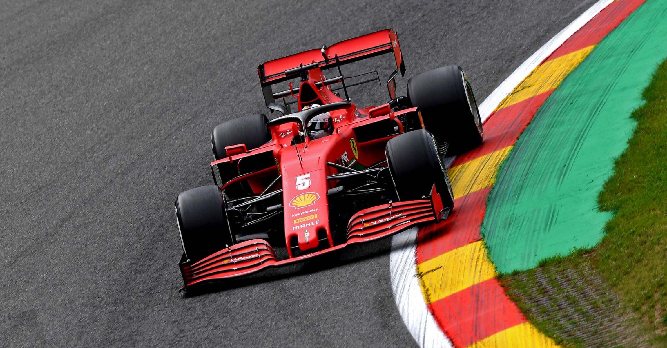GP BELGIO F1/2020 -  VENERDÌ 28/08/2020   credit: @Scuderia Ferrari Press Office Sebastian Vettel Ferrari