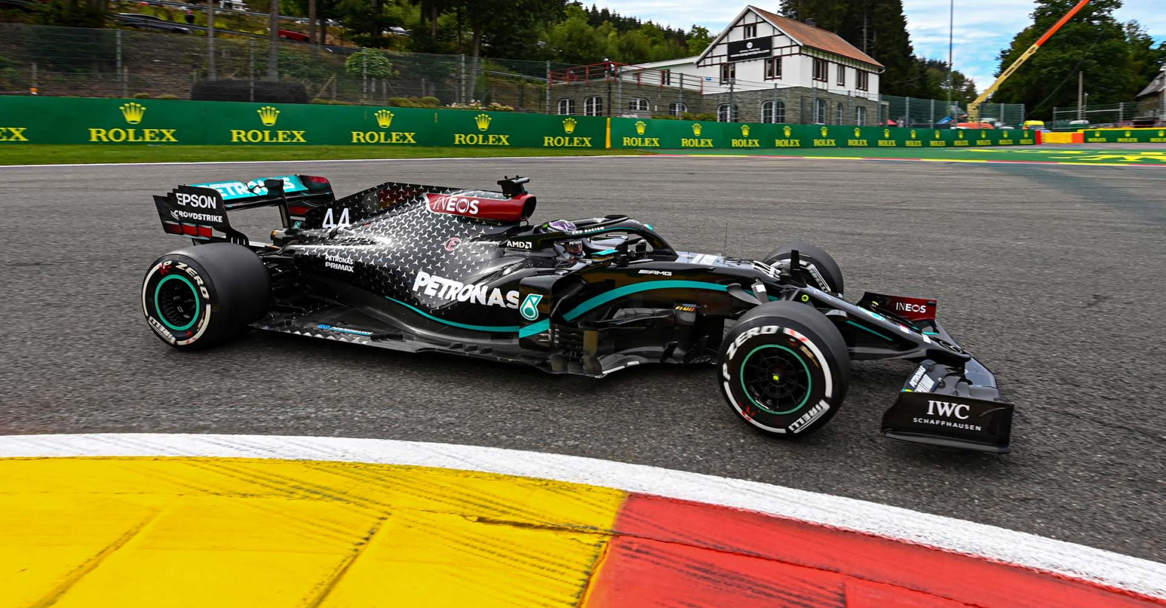 2020 Belgian Grand Prix, Friday - LAT Images Lewis Hamilton Mercedes