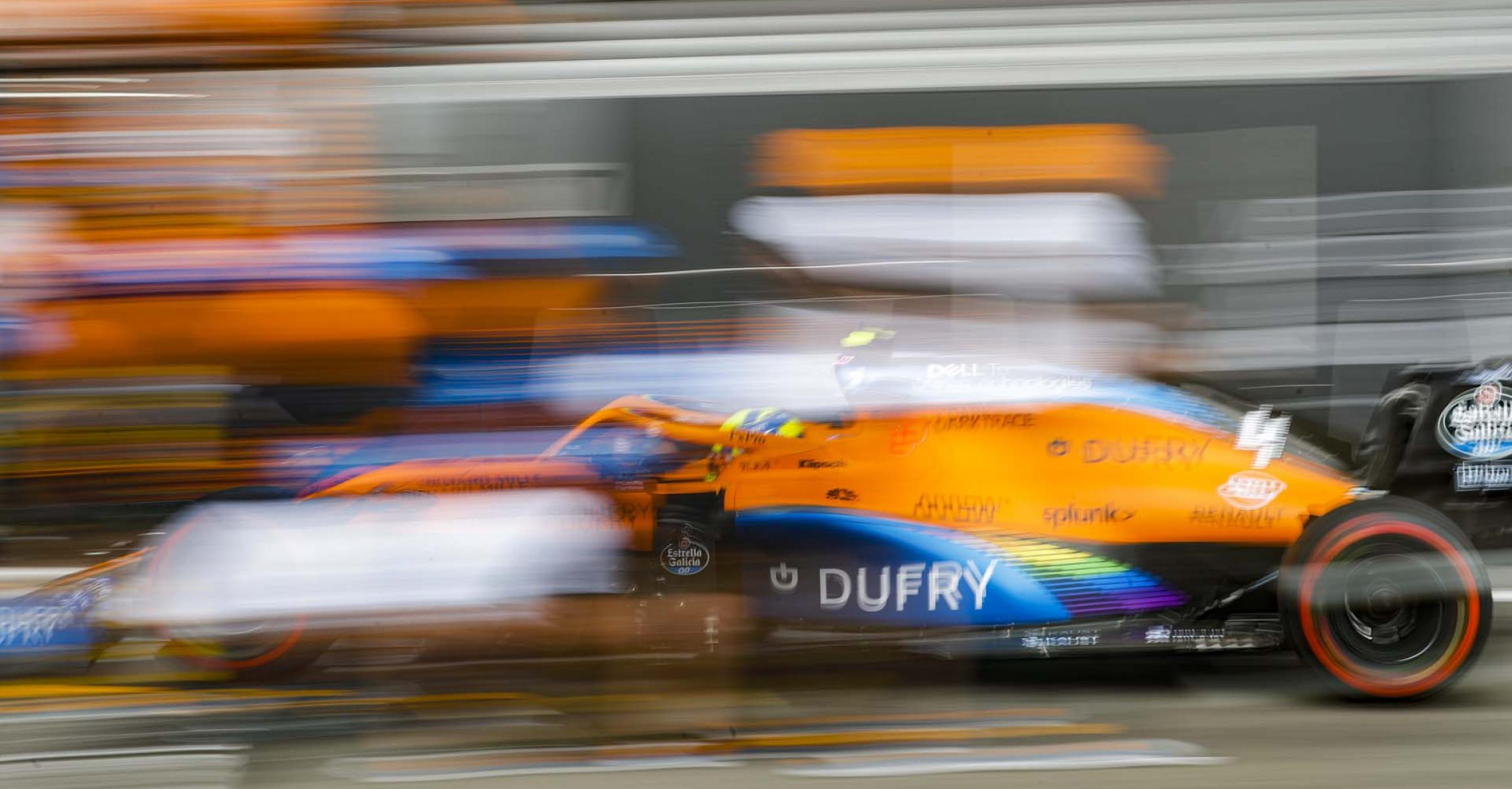 SPA-FRANCORCHAMPS, BELGIUM - AUGUST 28: Lando Norris, McLaren MCL35 during the Belgian GP at Spa-Francorchamps on Friday August 28, 2020 in Spa, Belgium. (Photo by Steven Tee / LAT Images)