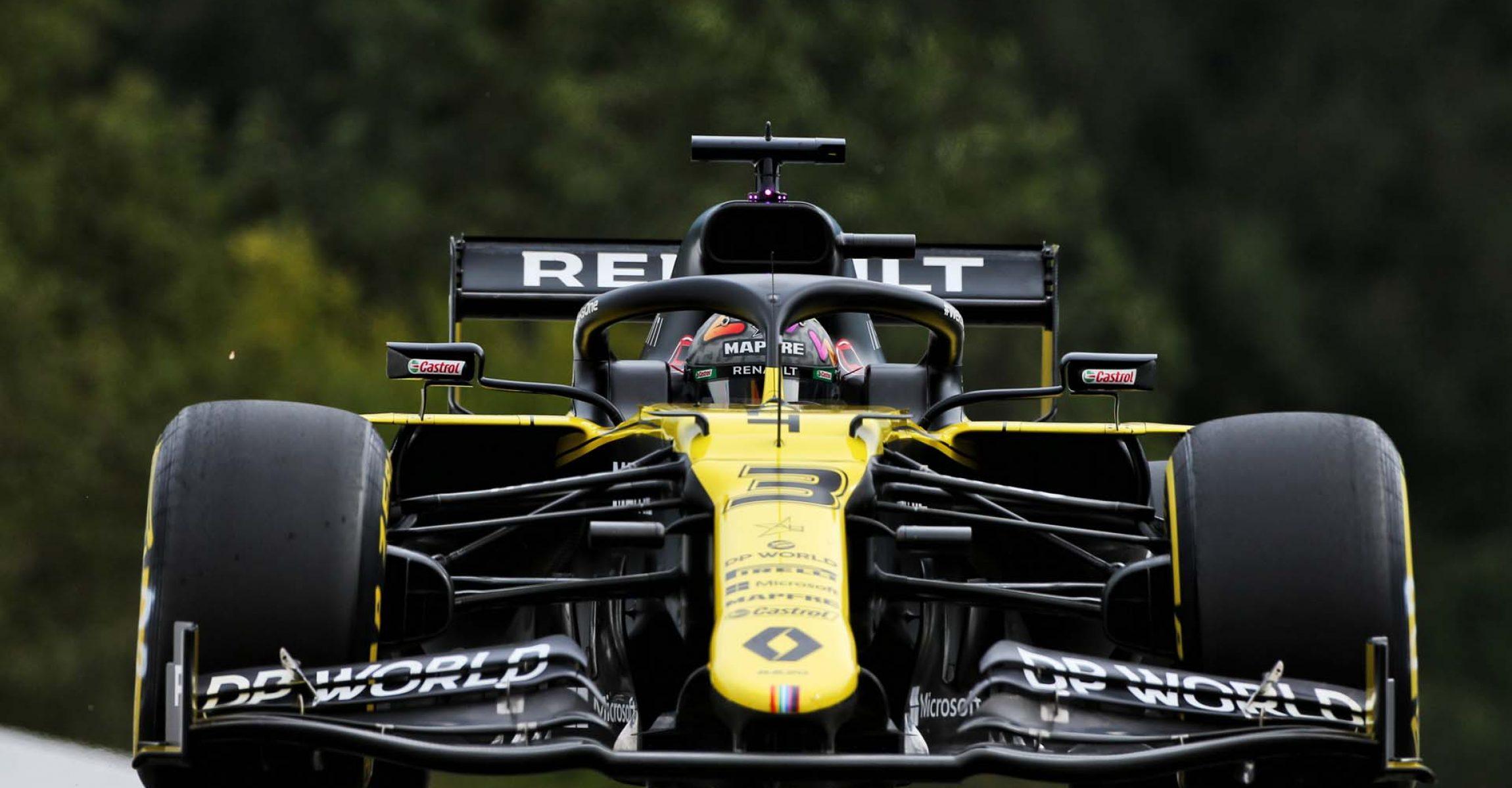 Daniel Ricciardo (AUS) Renault F1 Team RS20. Belgian Grand Prix, Friday 28th August 2020. Spa-Francorchamps, Belgium.