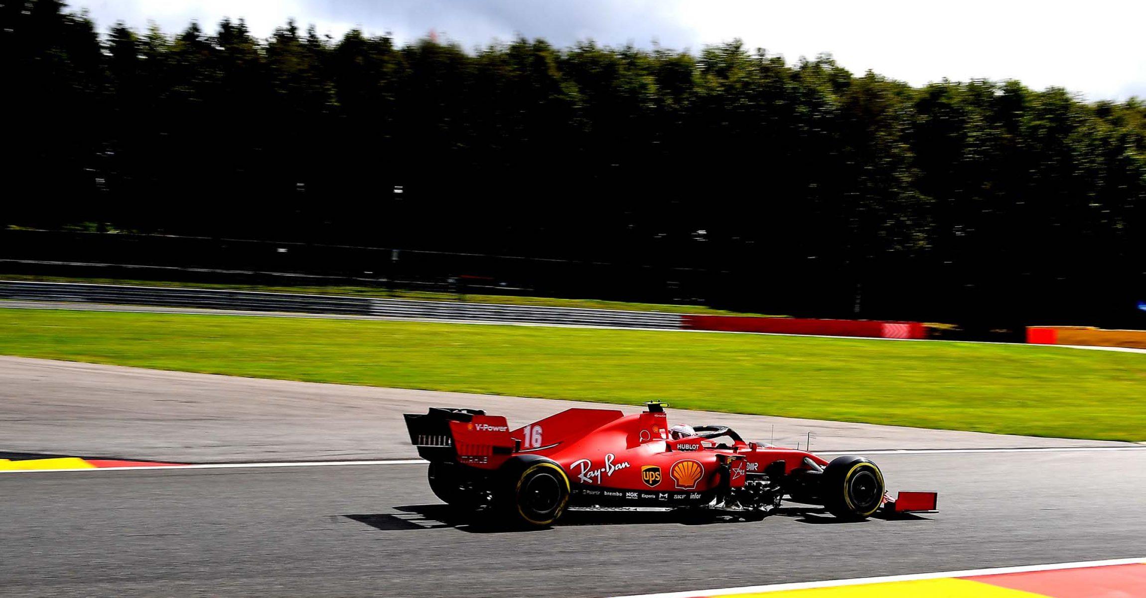 GP BELGIO F1/2020 -  SABATO 29/08/2020    credit: @Scuderia Ferrari Press Office Charles Leclerc
