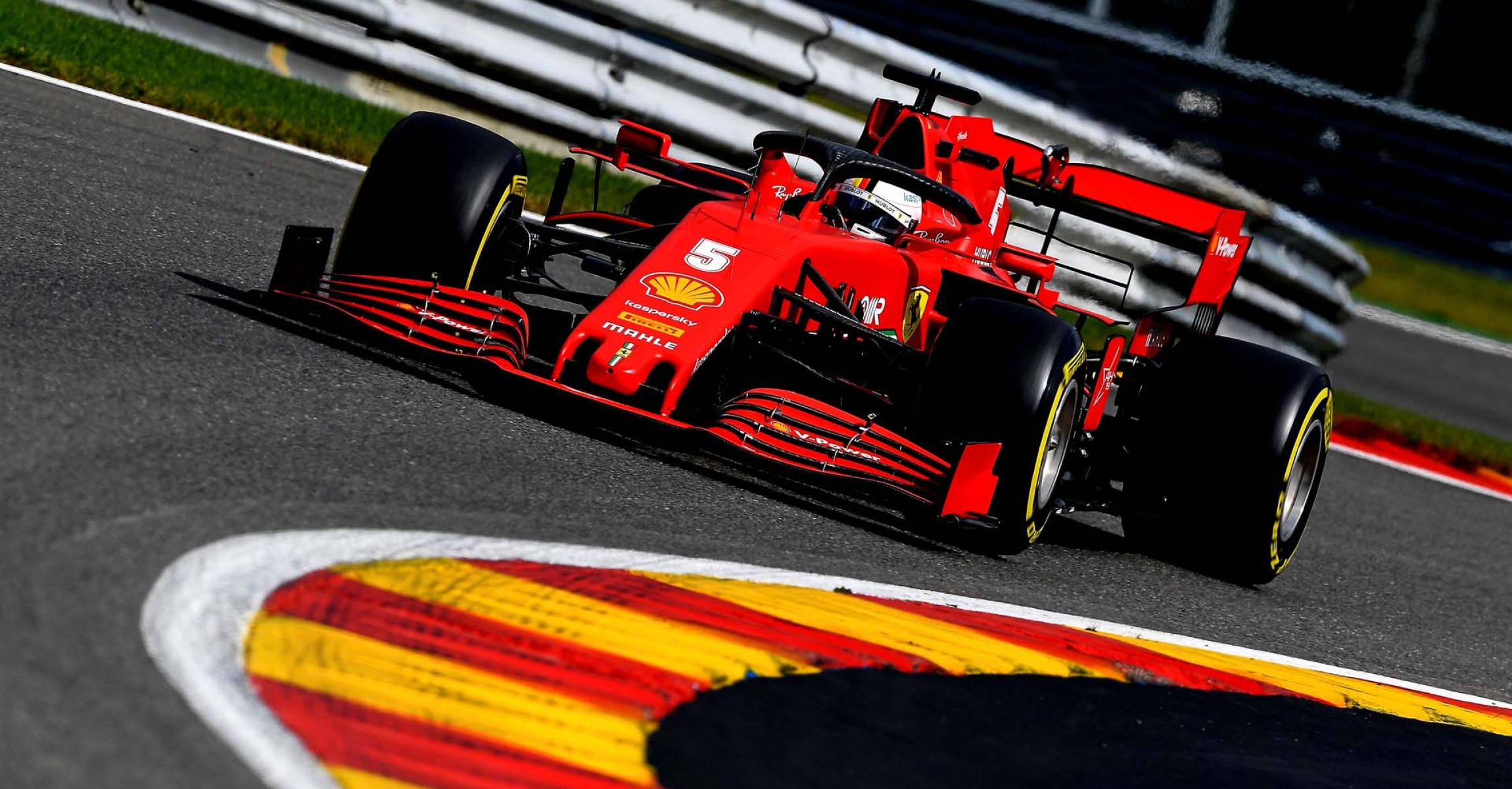 GP BELGIO F1/2020 -  SABATO 29/08/2020    credit: @Scuderia Ferrari Press Office Sebastian Vettel Ferrari