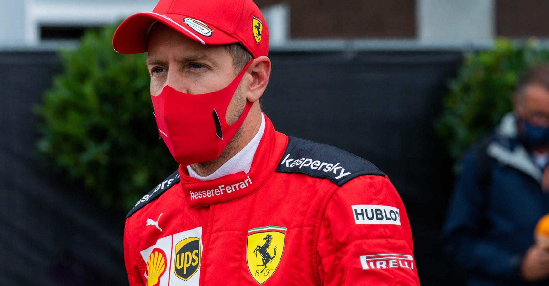 GP BELGIO F1/2020 -  SABATO 29/08/2020    credit: @Scuderia Ferrari Press Office Sebastian Vettel