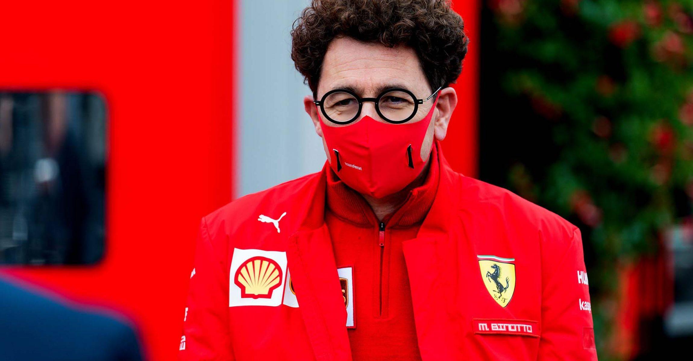 GP BELGIO F1/2020 -  SABATO 29/08/2020    credit: @Scuderia Ferrari Press Office Mattia Binotto