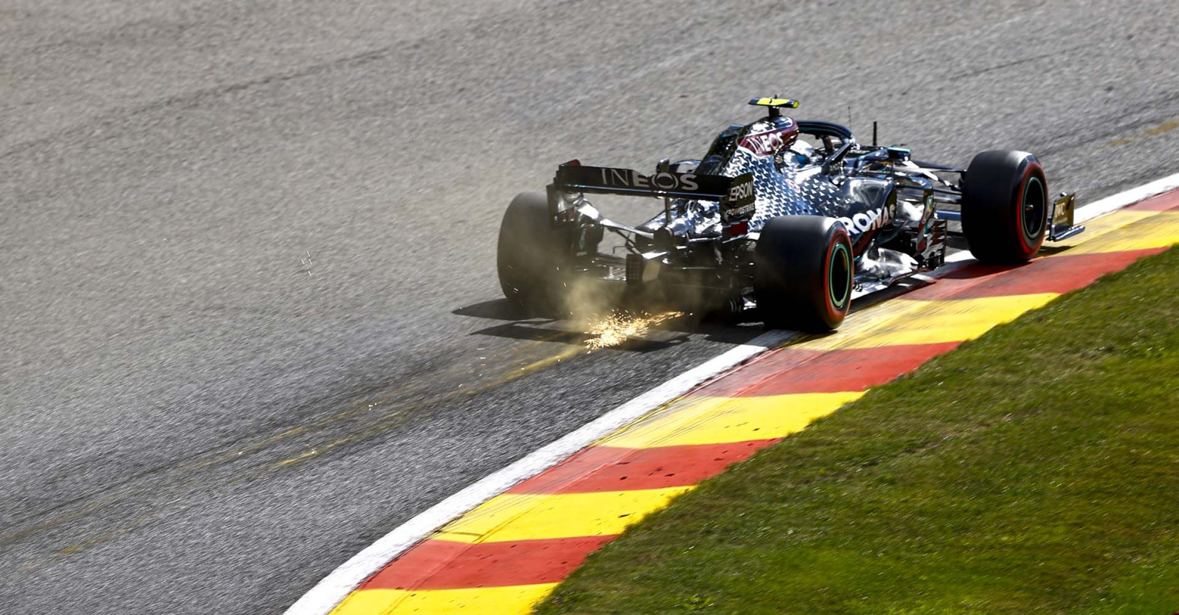 2020 Belgian Grand Prix, Saturday - LAT Images Valtteri Bottas Mercedes