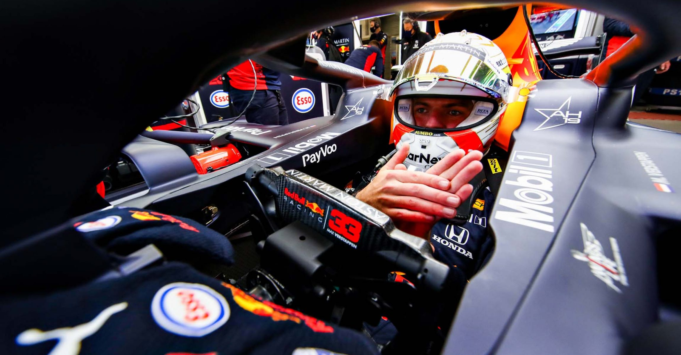 SPA, BELGIUM - AUGUST 29: Max Verstappen of Netherlands and Red Bull Racing prepares to drive during final practice for the F1 Grand Prix of Belgium at Circuit de Spa-Francorchamps on August 29, 2020 in Spa, Belgium. (Photo by Mark Thompson/Getty Images)