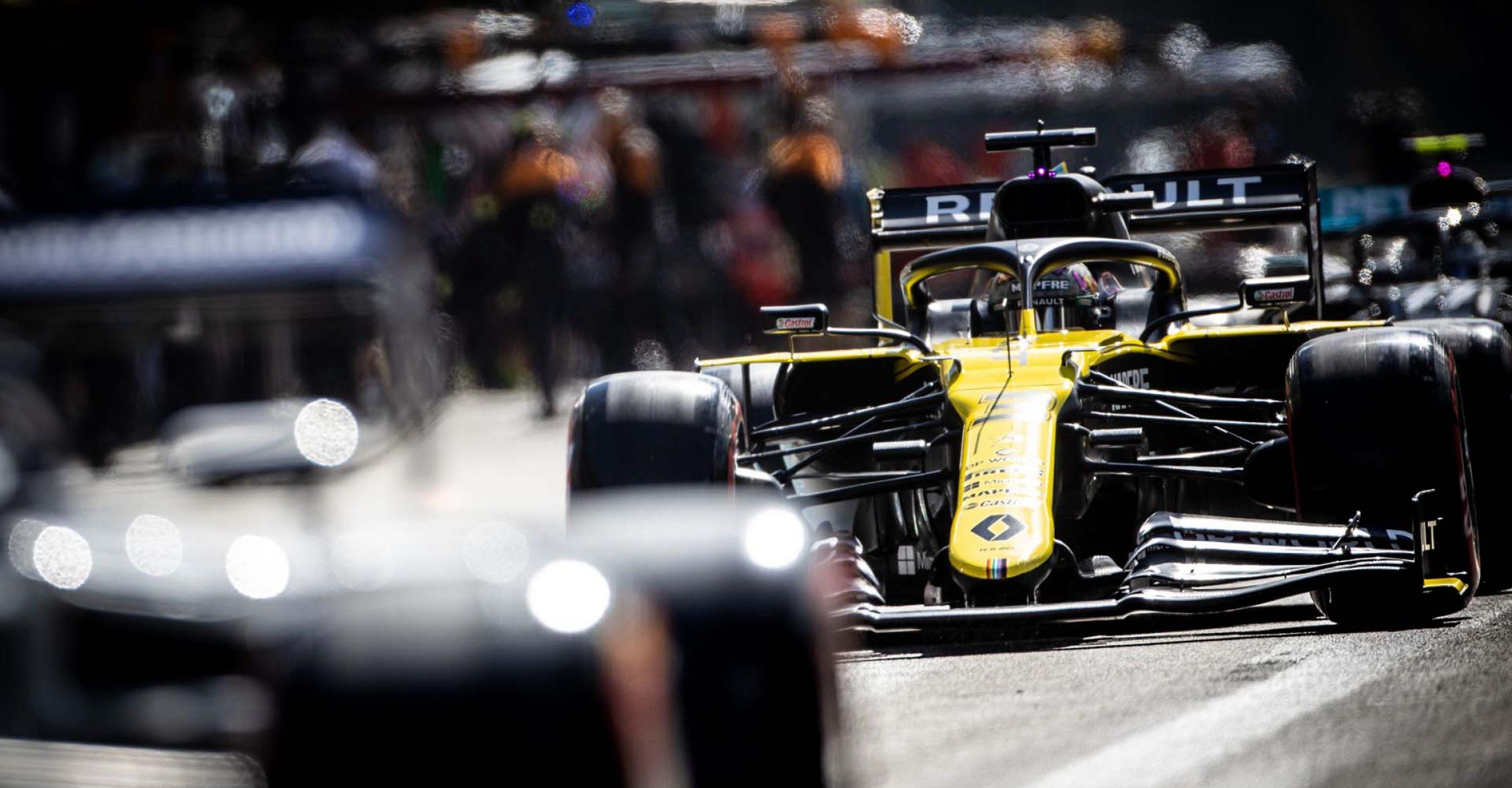 Daniel Ricciardo (AUS) Renault F1 Team RS20. Belgian Grand Prix, Saturday 29th August 2020. Spa-Francorchamps, Belgium.
