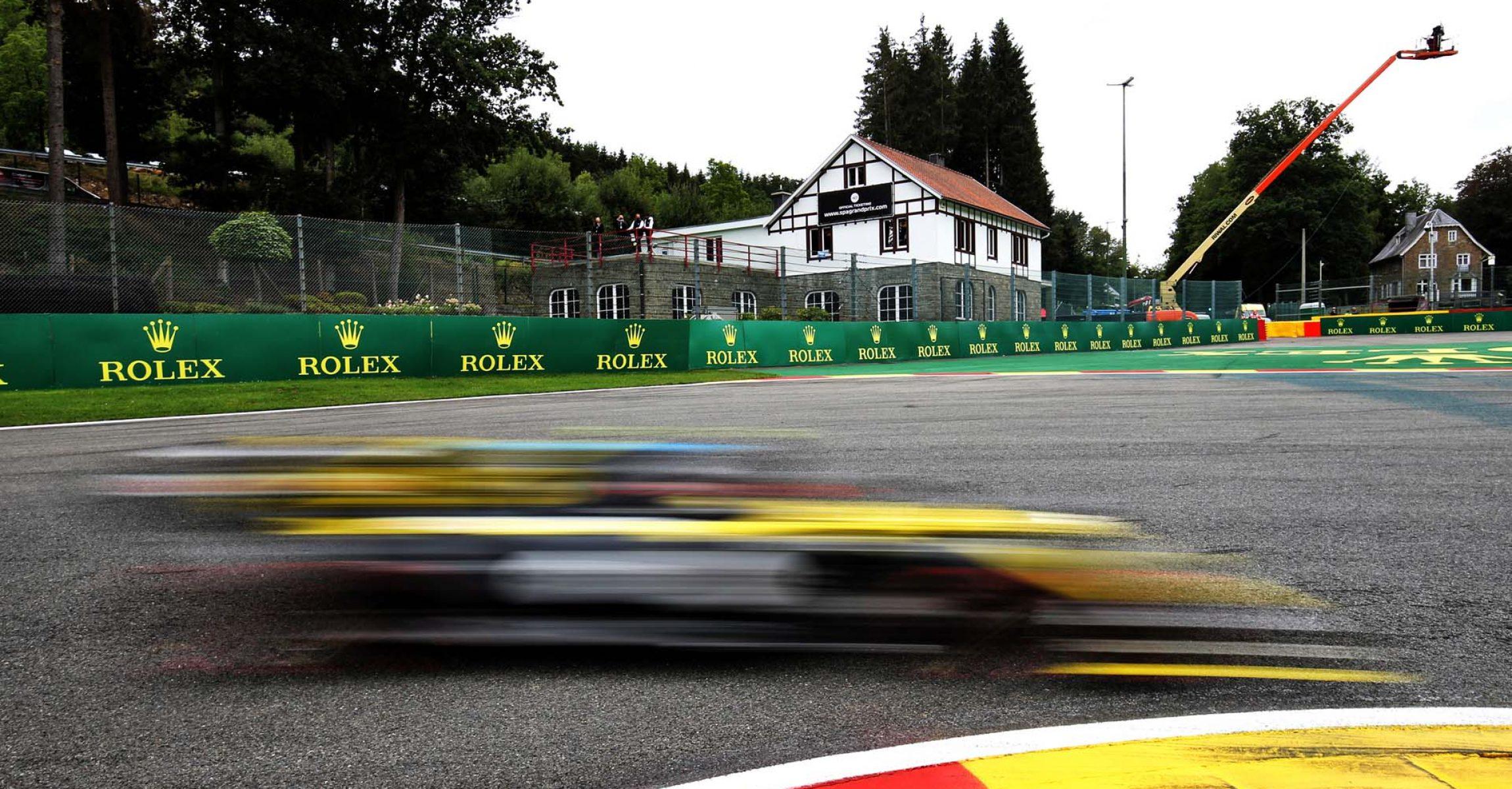 Esteban Ocon (FRA) Renault F1 Team RS20. Belgian Grand Prix, Saturday 29th August 2020. Spa-Francorchamps, Belgium.