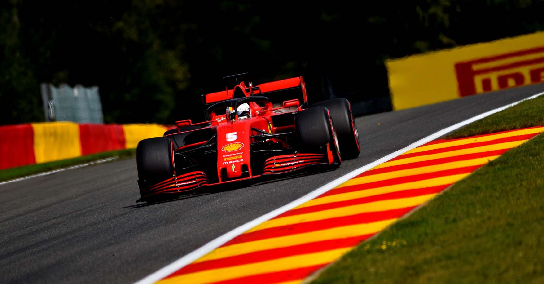 GP BELGIO F1/2020 -  DOMENICA 30/08/2020    credit: @Scuderia Ferrari Press Office Sebastian Vettel