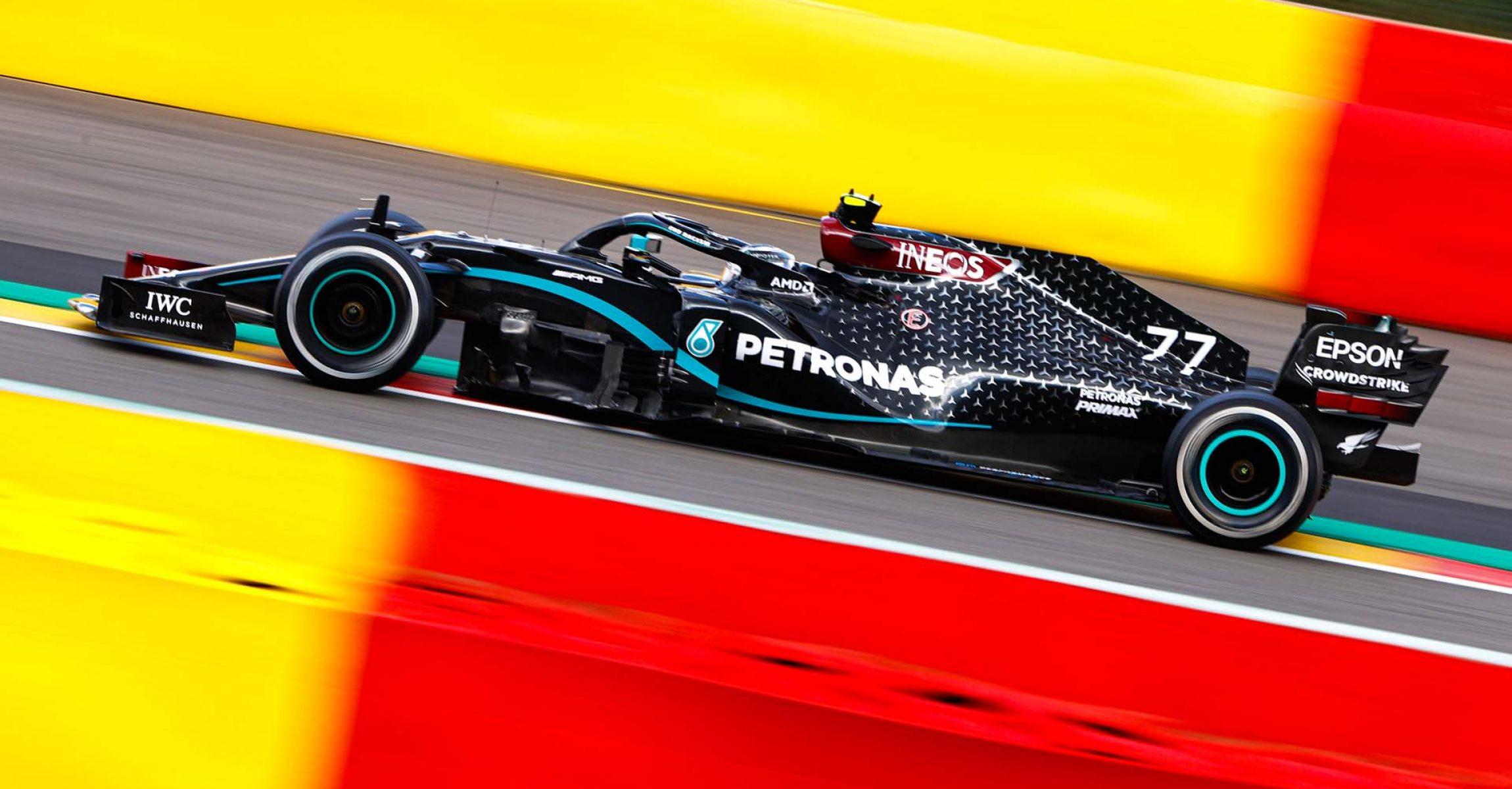 2020 Belgian Grand Prix, Sunday - LAT Images Valtteri Bottas Mercedes