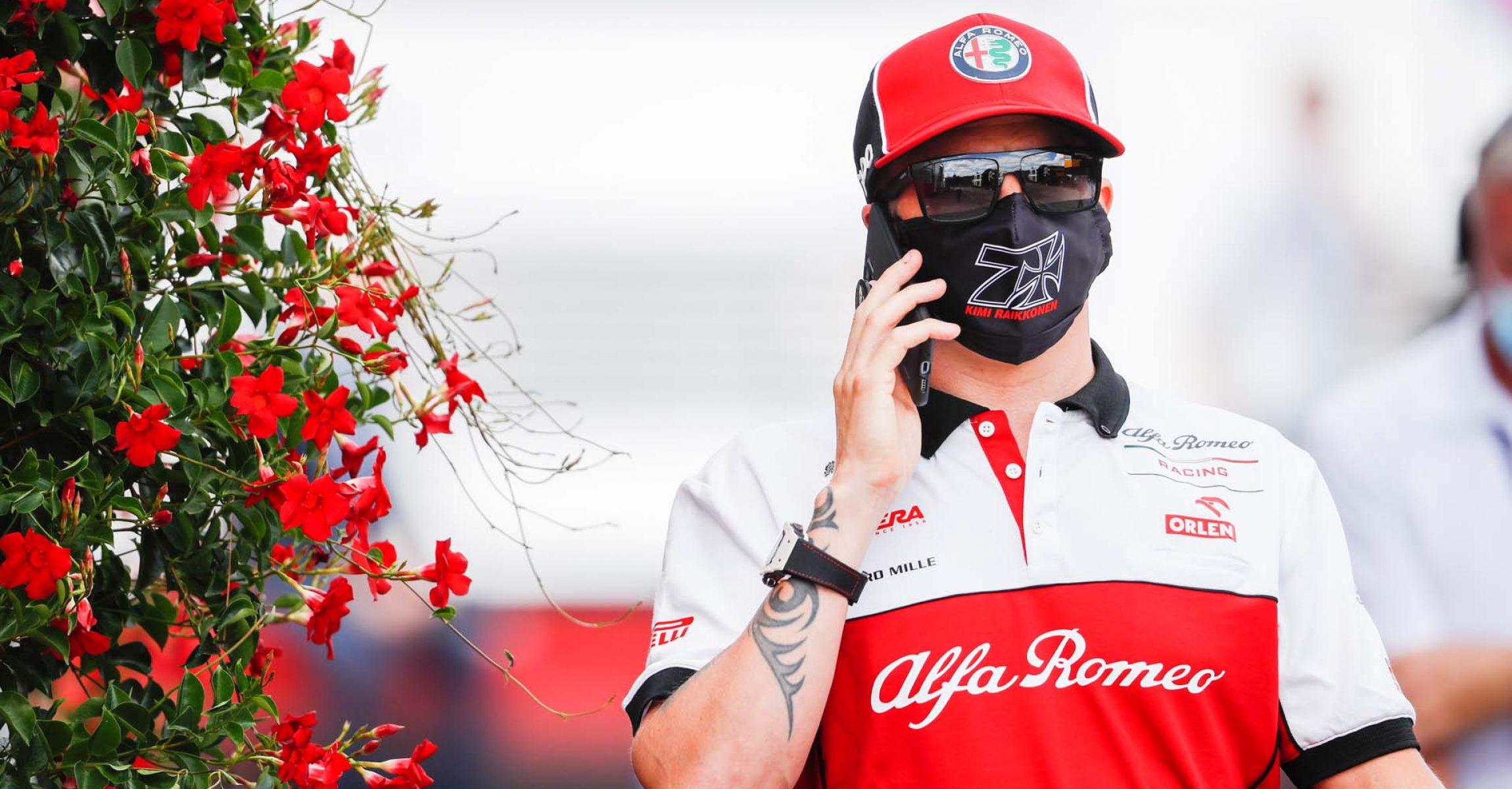 RAIKKONEN Kimi Räikkönen (fin), Alfa Romeo Racing ORLEN C39, portrait during the Formula 1 Rolex Belgian Grand Prix 2020, from August 28 to 30, 2020 on the Circuit de Spa-Francorchamps, in Stavelot, near Liège, Belgium - Photo Antonin Vincent / DPPI