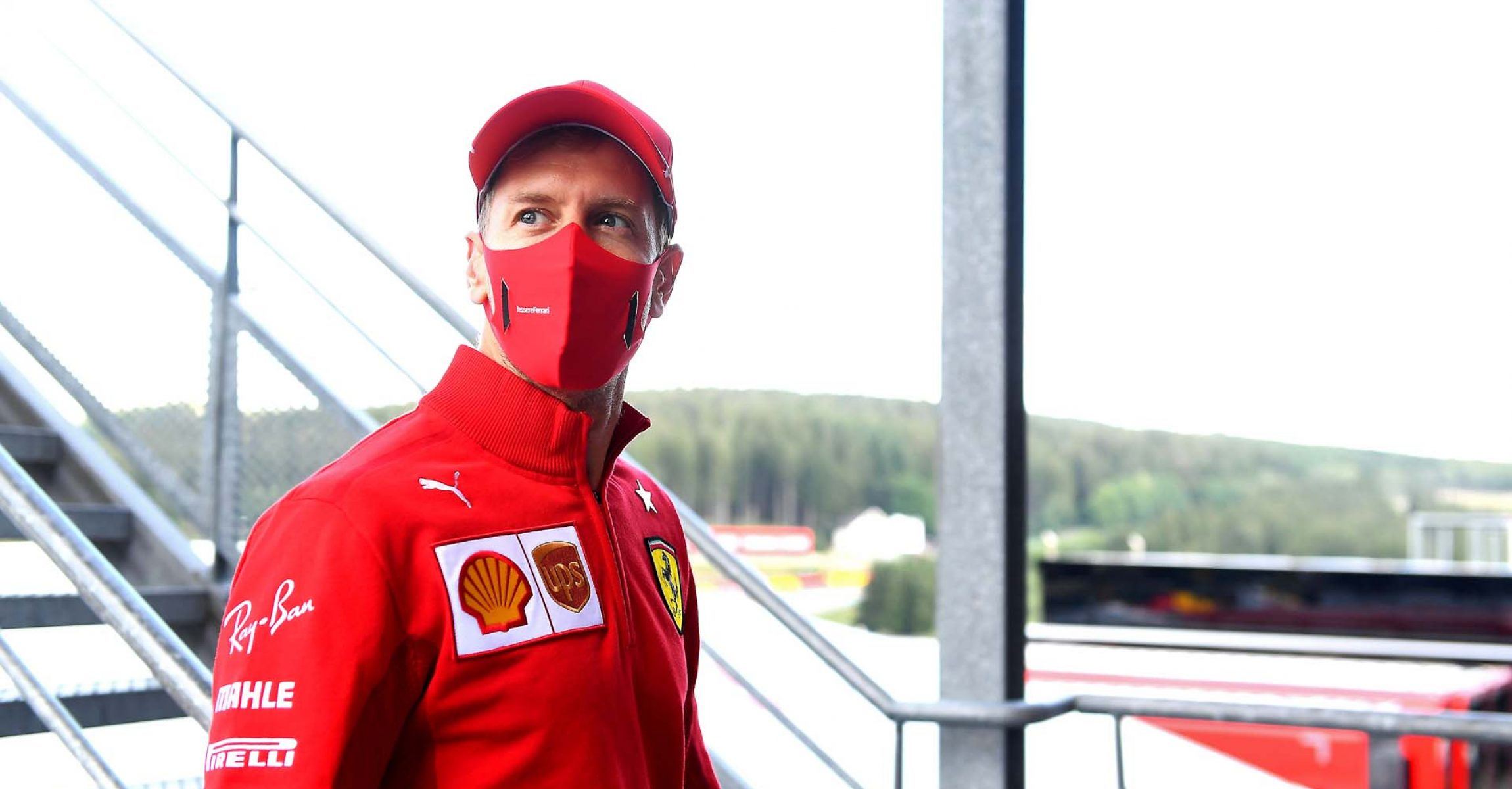 GP BELGIO F1/2020 -  GIOVEDÌ 27/08/2020   credit: @Scuderia Ferrari Press Office Sebastian Vettel