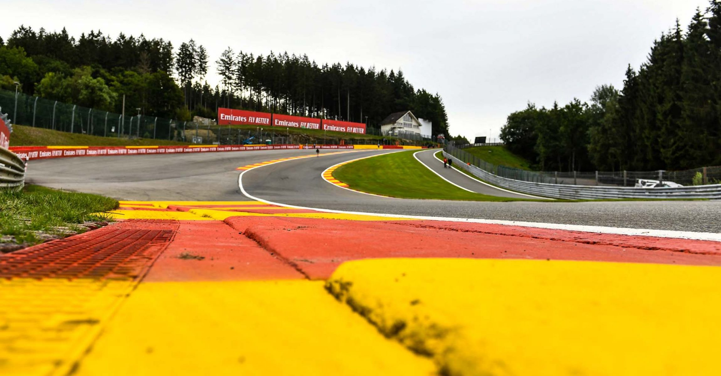 Track and Kerb detail Eau Rouge