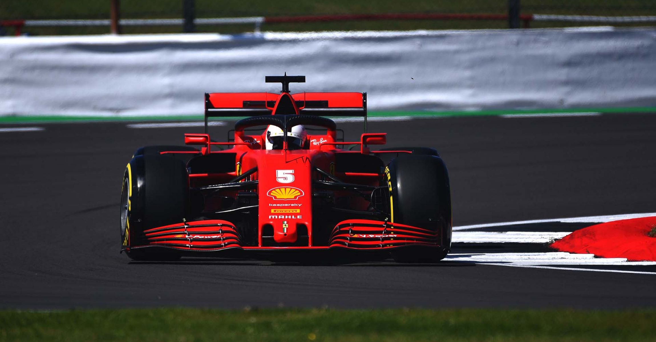 GP GRAN BRETAGNA F1/2020 - VENERDÌ 31/07/2020 credit: @Scuderia Ferrari Press Office Sebastian Vettel