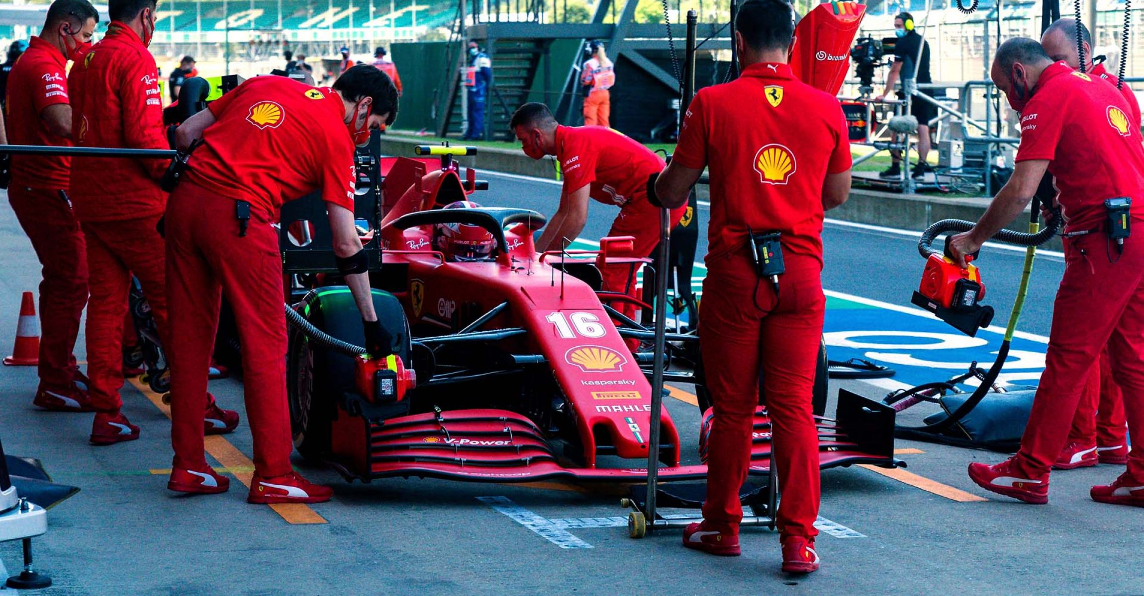 GP GRAN BRETAGNA F1/2020 - VENERDÌ 31/07/2020 credit: @Scuderia Ferrari Press Office Charles Leclerc