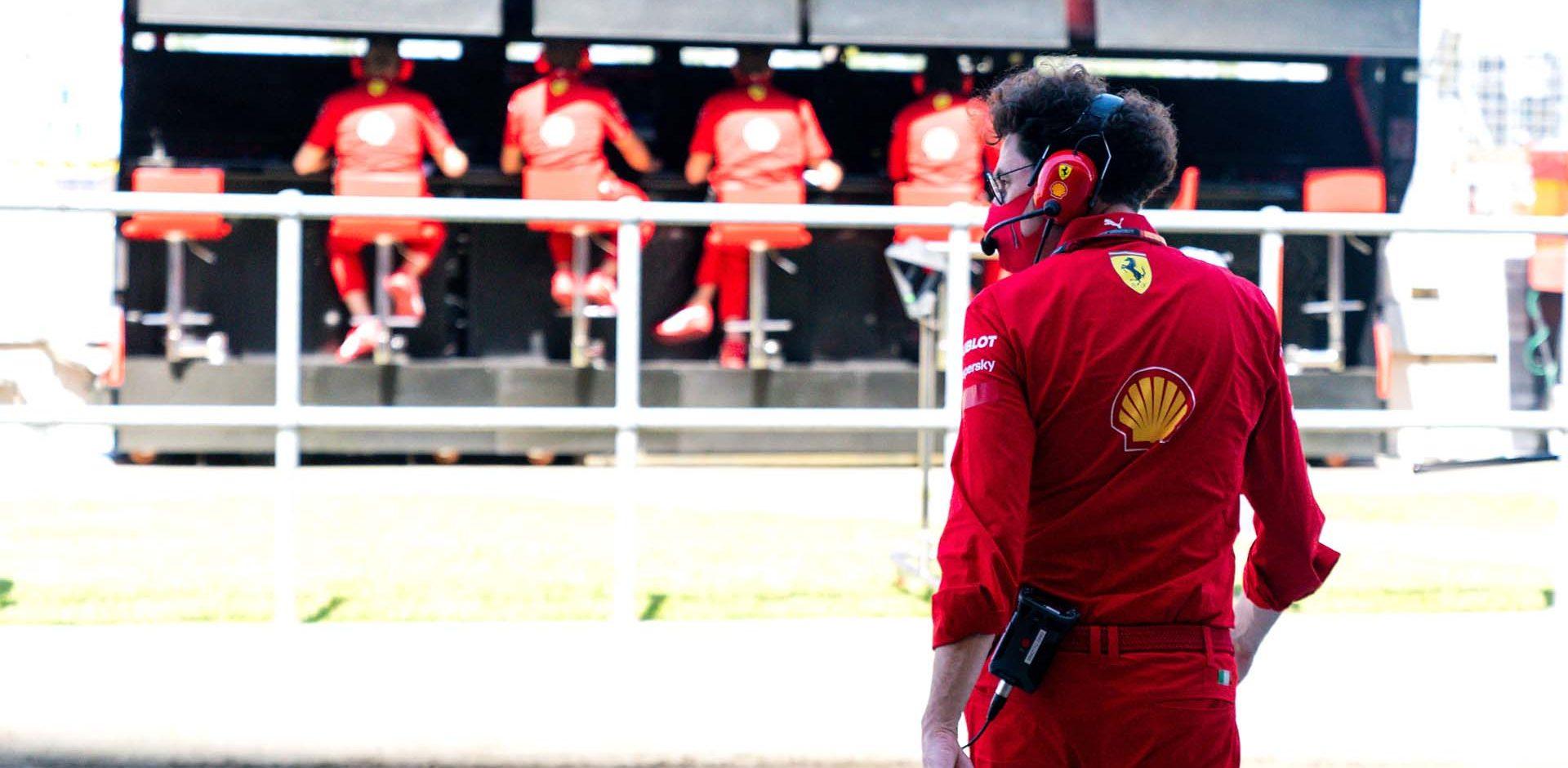GP GRAN BRETAGNA  F1/2020 -  VENERDÌ 31/07/2020  credit: @Scuderia Ferrari Press Office Mattia Binotto