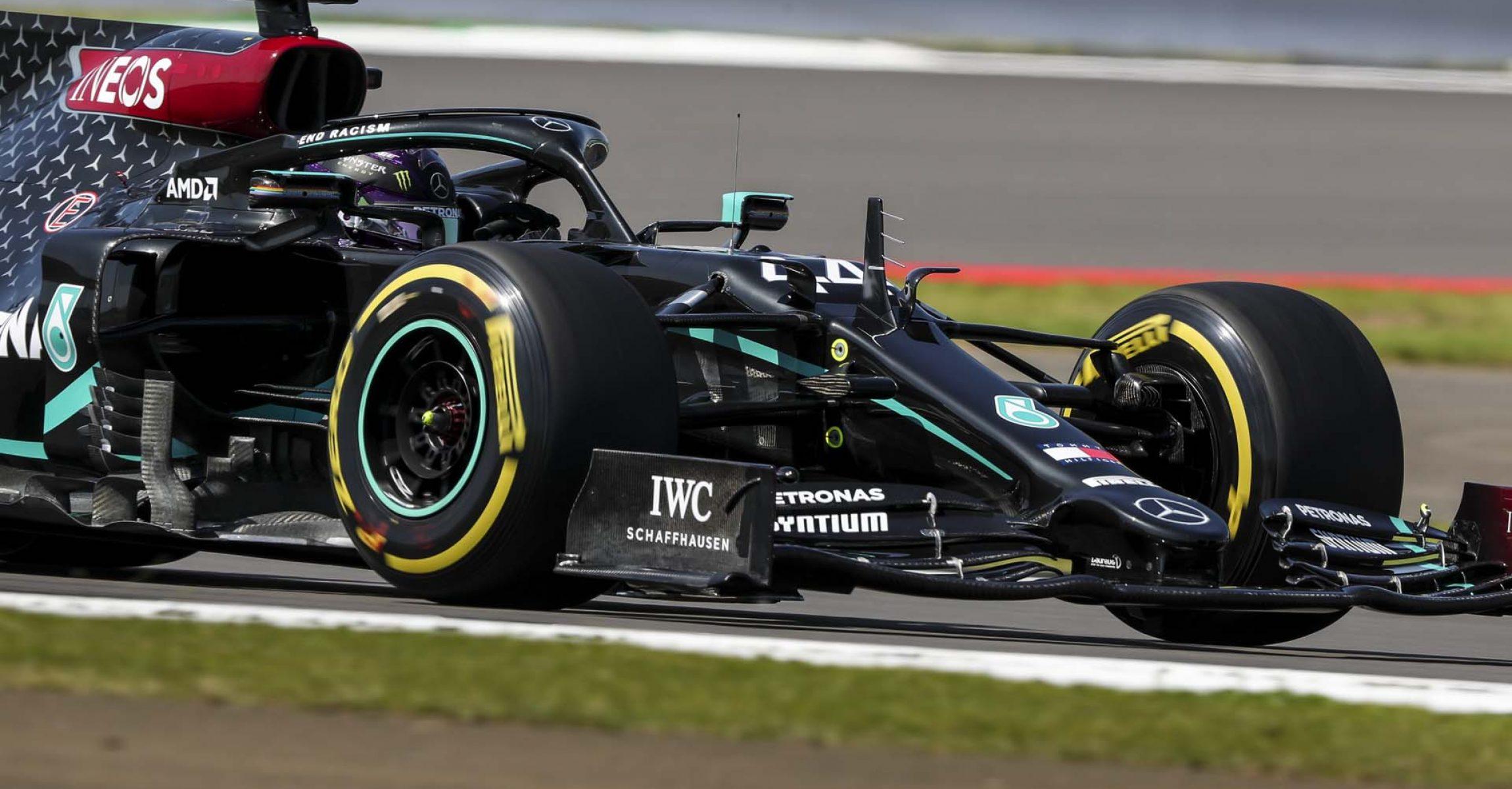 2020 British Grand Prix,Friday - LAT Images Lewis Hamilton Mercedes