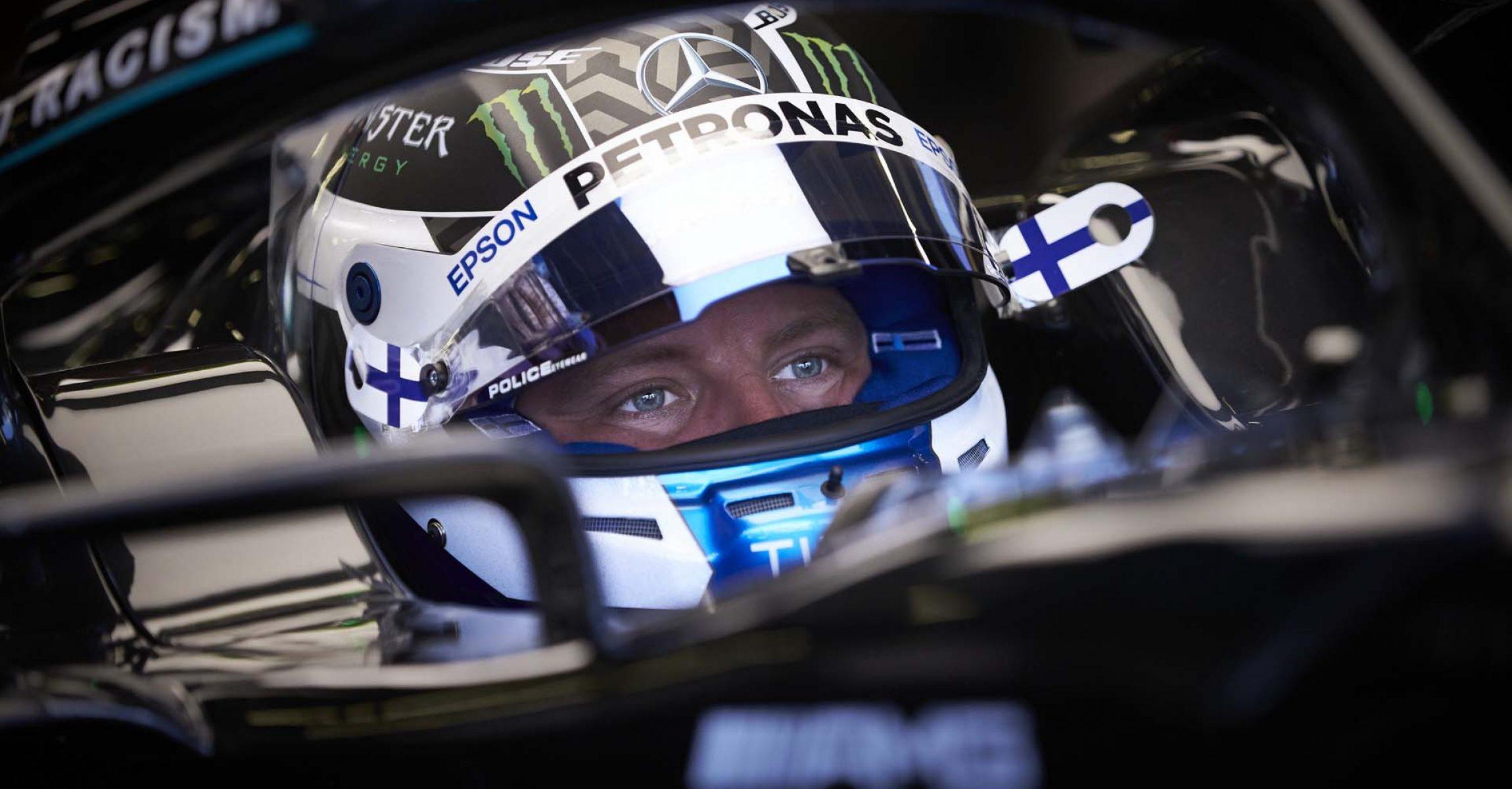 2020 British Grand Prix, Friday- Steve Etherington Valtteri Bottas Mercedes