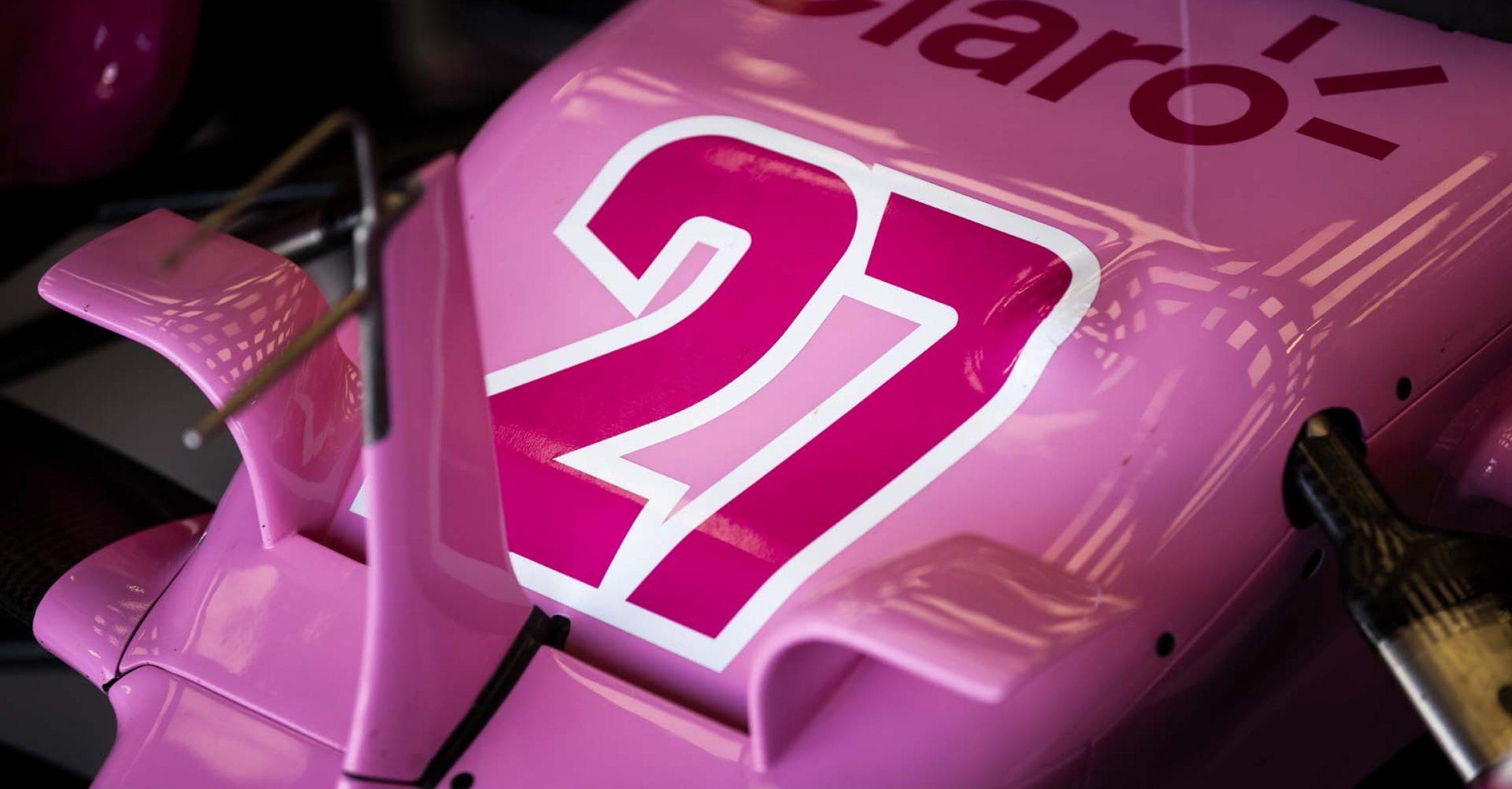 Number 27 of Nico Hülkenberg, Racing Point RP20
