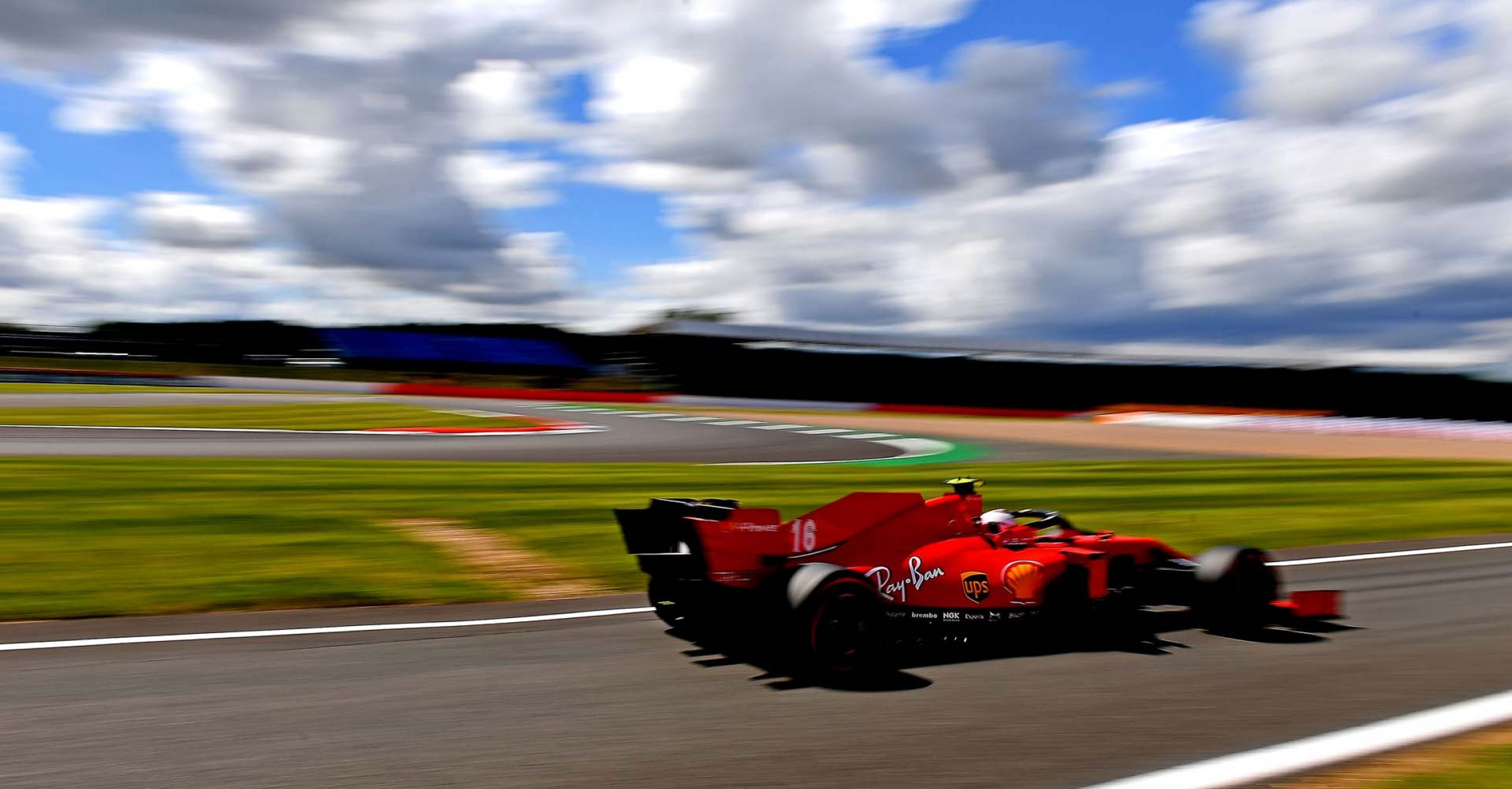 GP GRAN BRETAGNA F1/2020 - SABATO 01/08/2020 credit: @Scuderia Ferrari Press Office Charles Leclerc