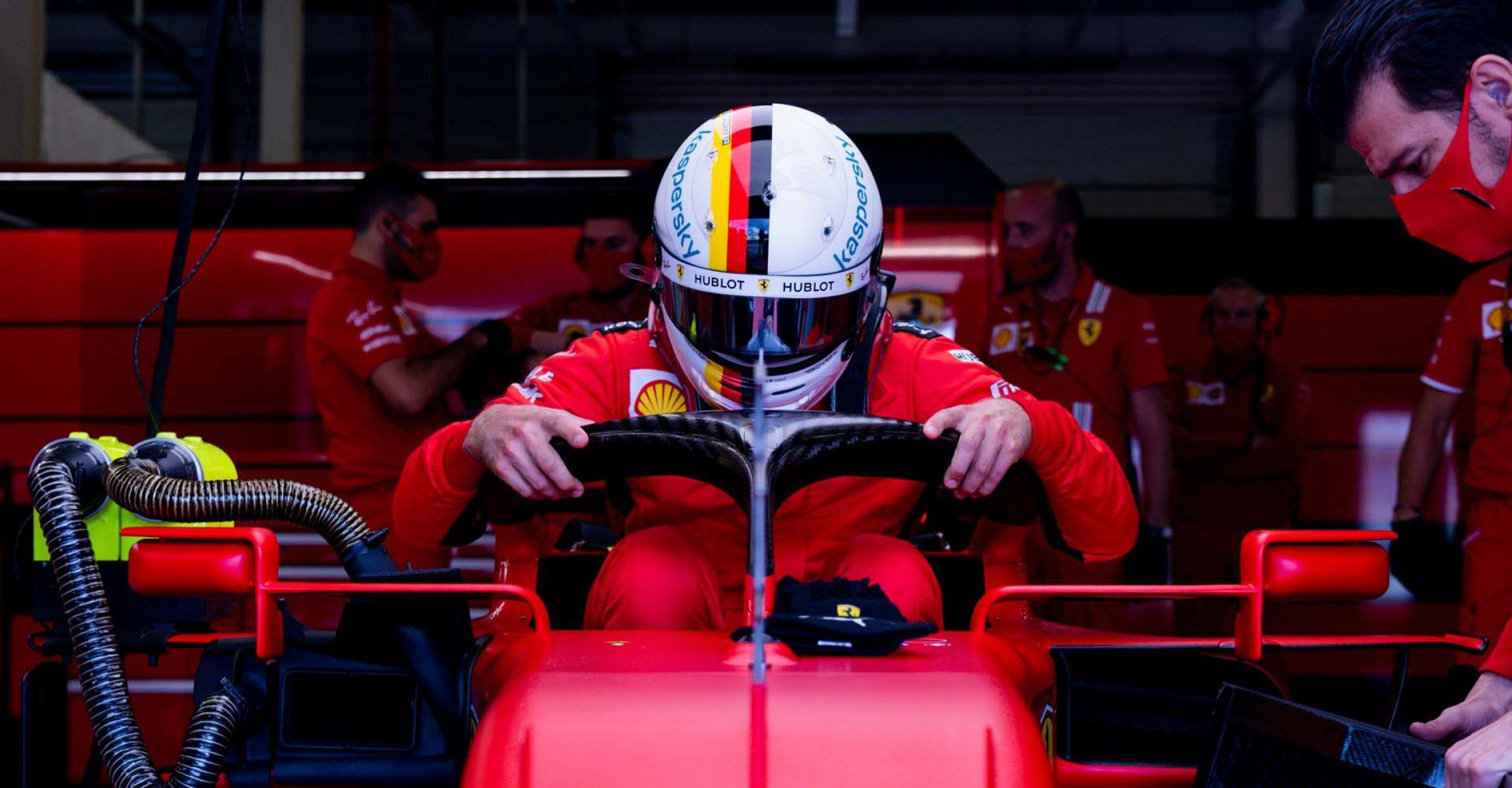 GP GRAN BRETAGNA F1/2020 - SABATO 01/08/2020 credit: @Scuderia Ferrari Press Office Sebastian Vettel