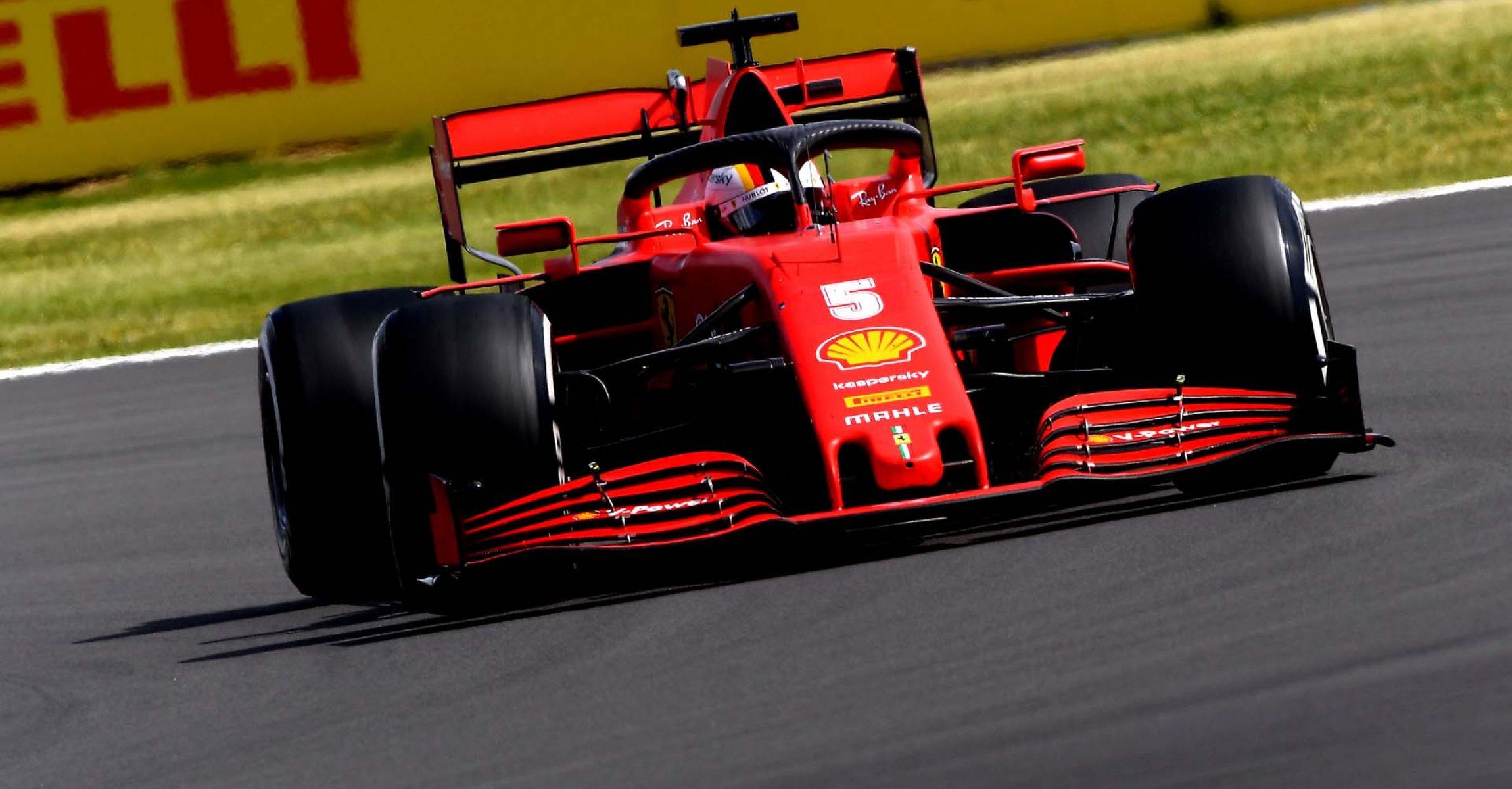 GP GRAN BRETAGNA  F1/2020 -  DOMENICA 02/08/2020  credit: @Scuderia Ferrari Press Office Sebastian Vettel