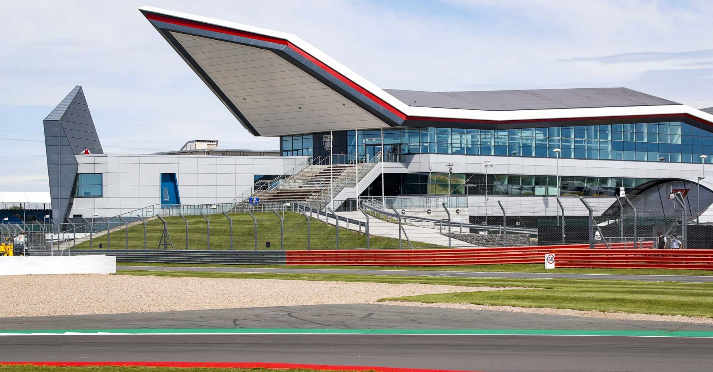 Track and empty grandstands atmosphere during the Formula 1 Pirelli British Grand Prix 2020, from July 31 to August 02, 2020 on the Silverstone Circuit, in Silverstone, United Kingdom - Photo Florent Gooden / DPPI